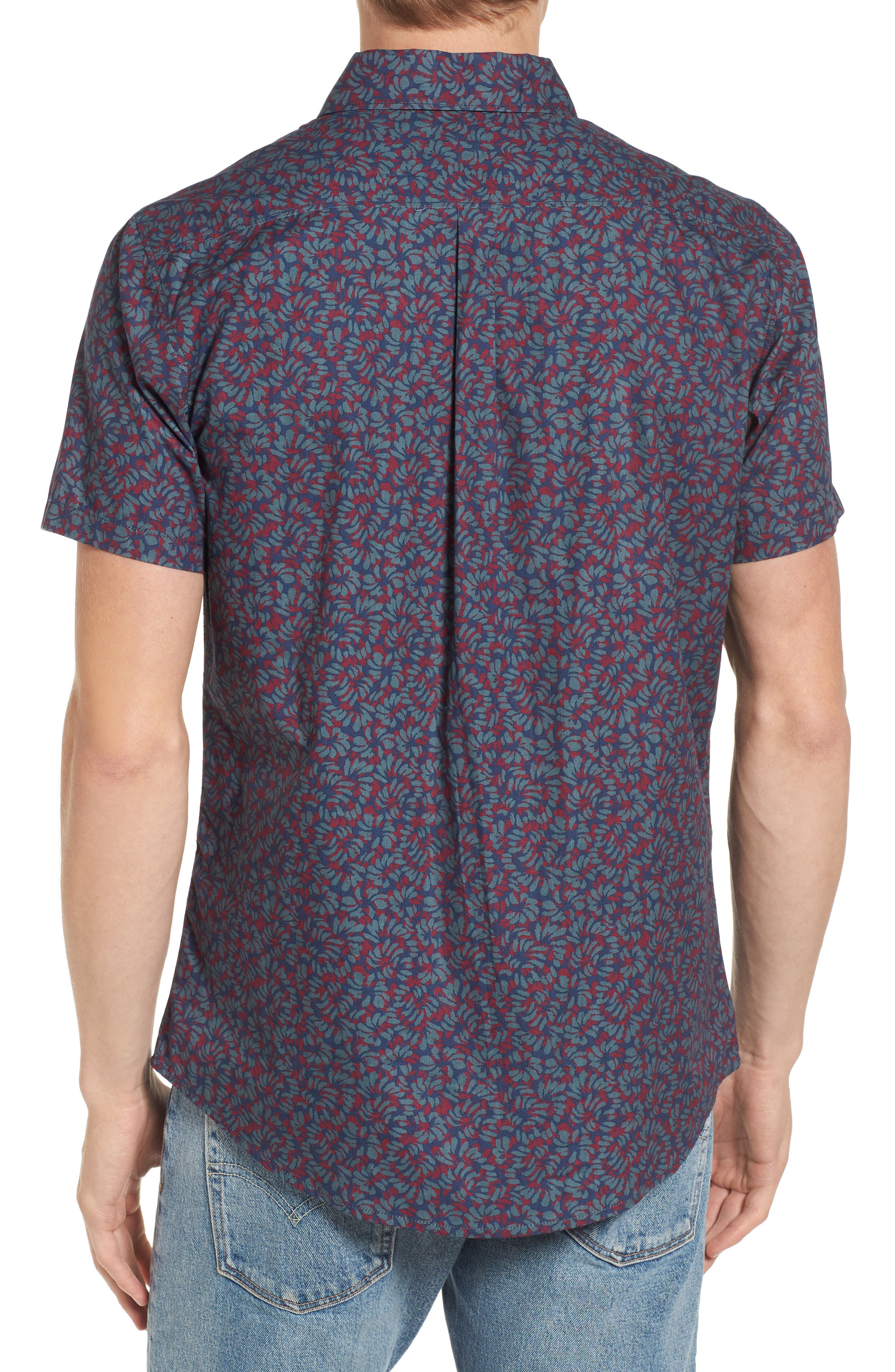 Alternate Image 2  - RVCA Brong Short Sleeve Shirt
