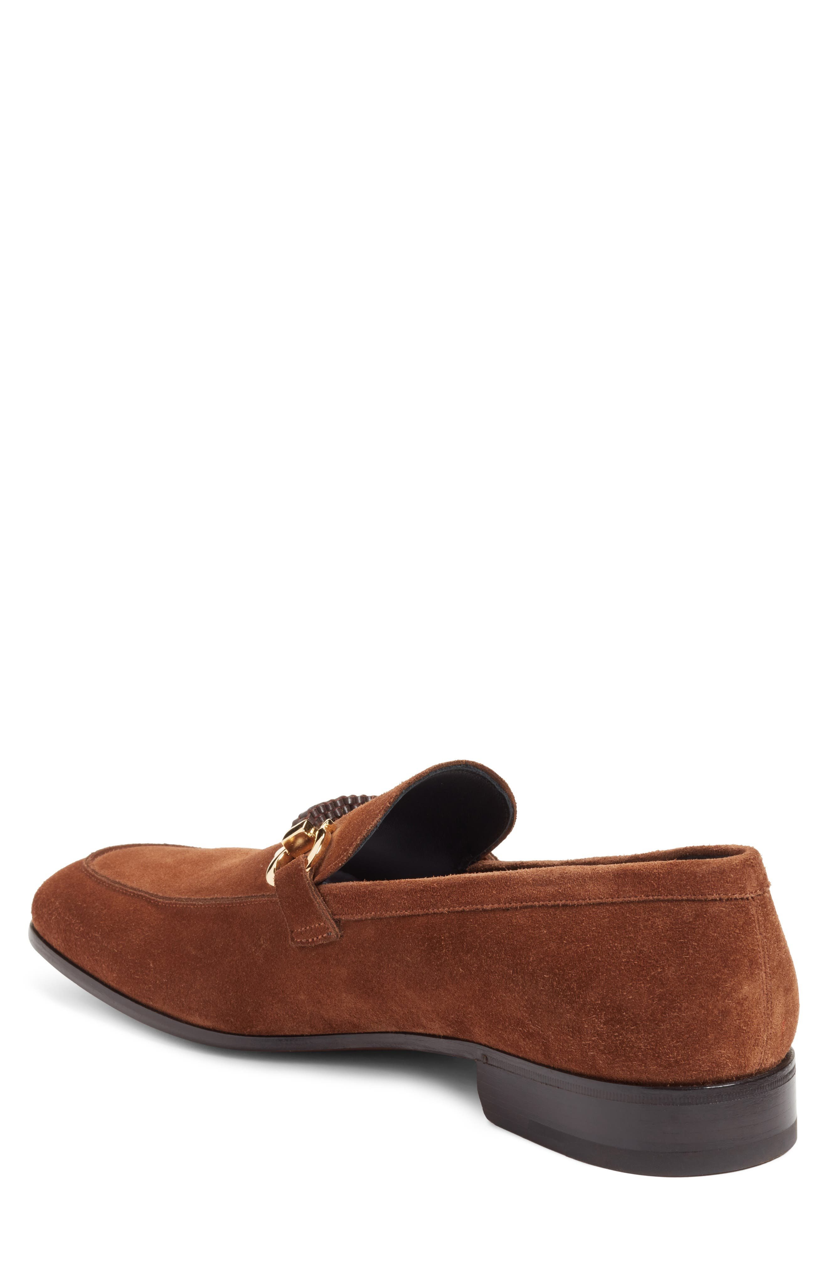 Cross Bit Loafer,                             Alternate thumbnail 3, color,                             Castoro