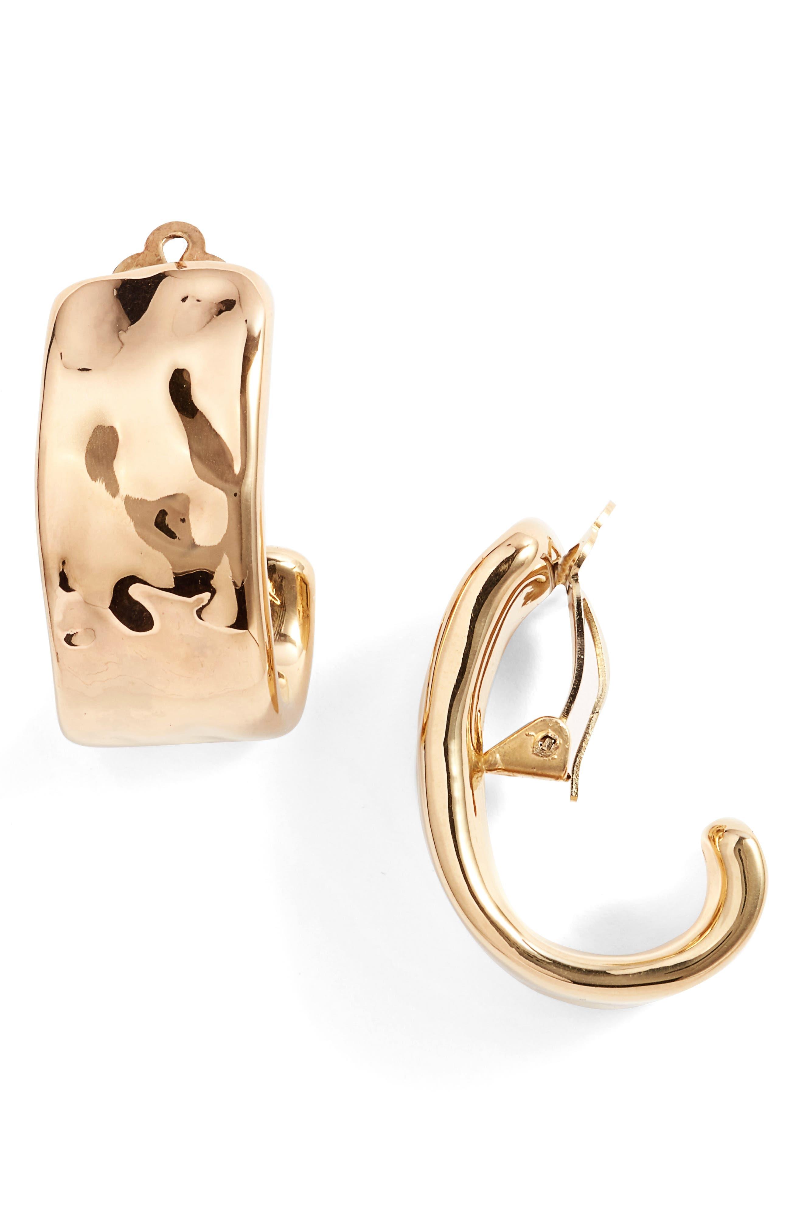Main Image - Simon Sebbag Clip Hoop Earrings