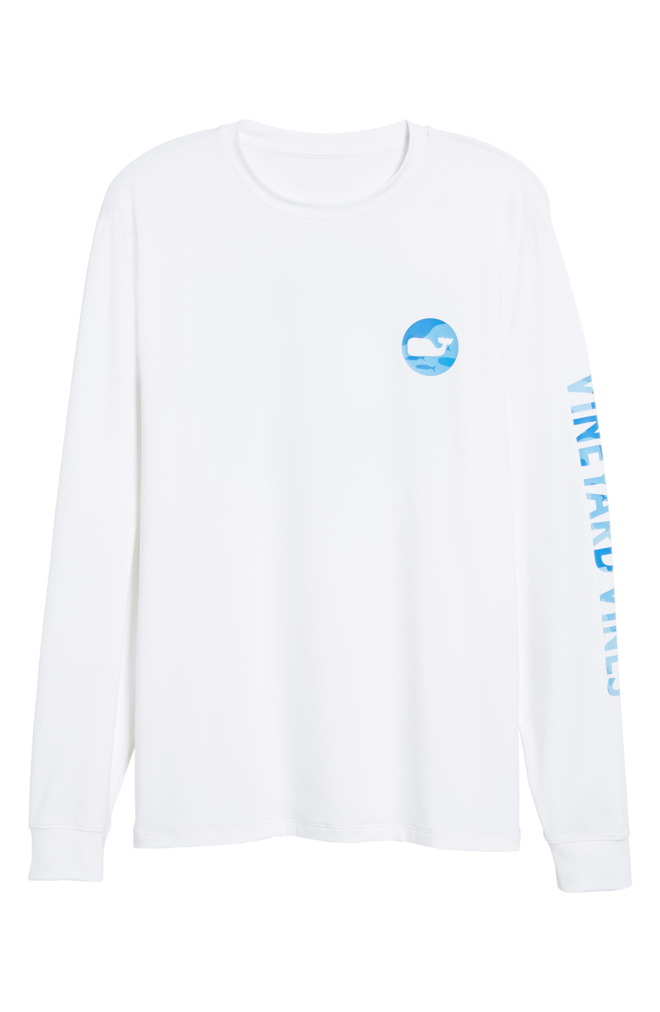 Alternate Image 6  - vineyard vines Marlin Whale Dot Performance T-Shirt