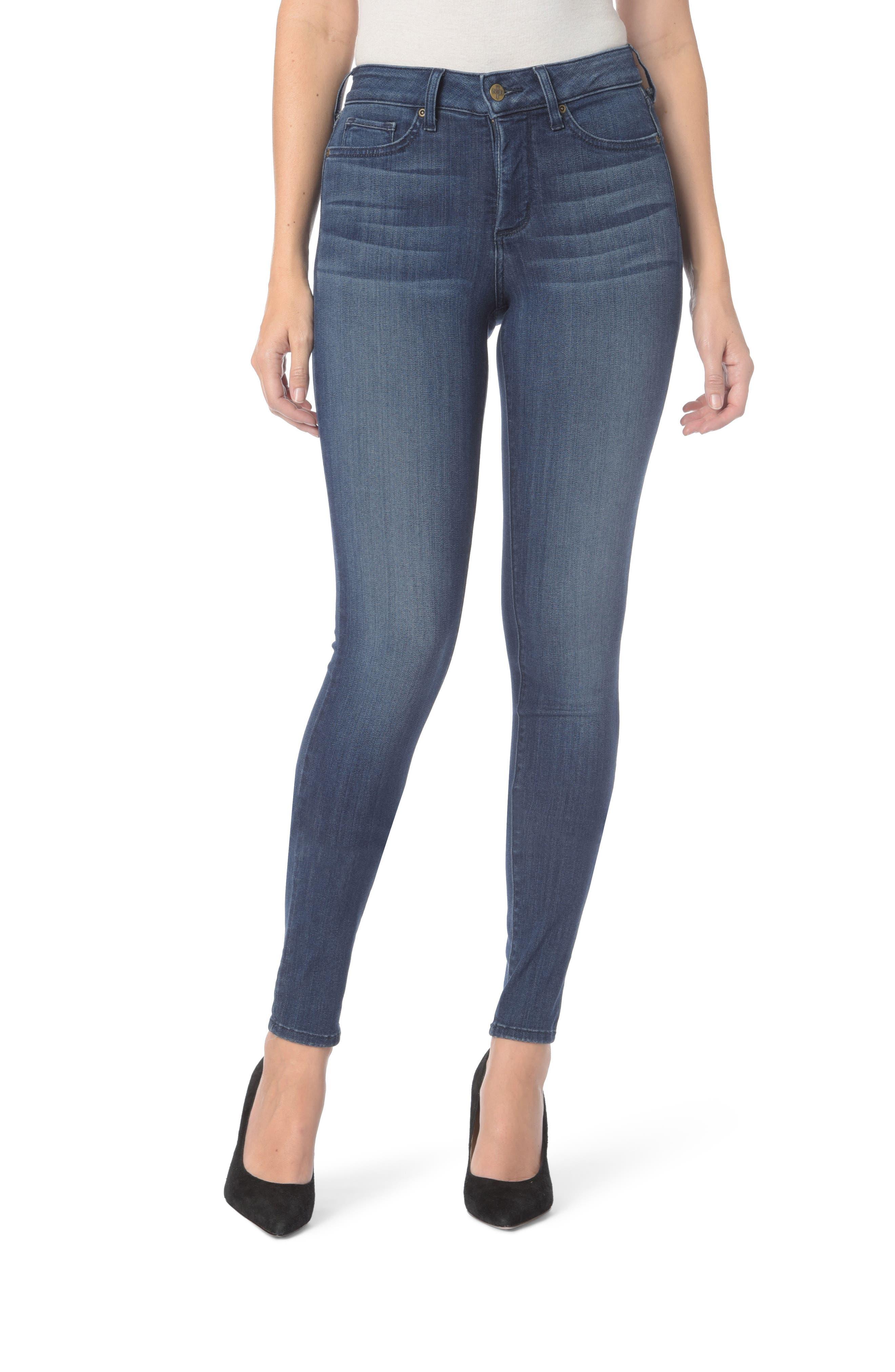 Ami Stretch Super Skinny Jeans,                             Main thumbnail 1, color,                             Lark