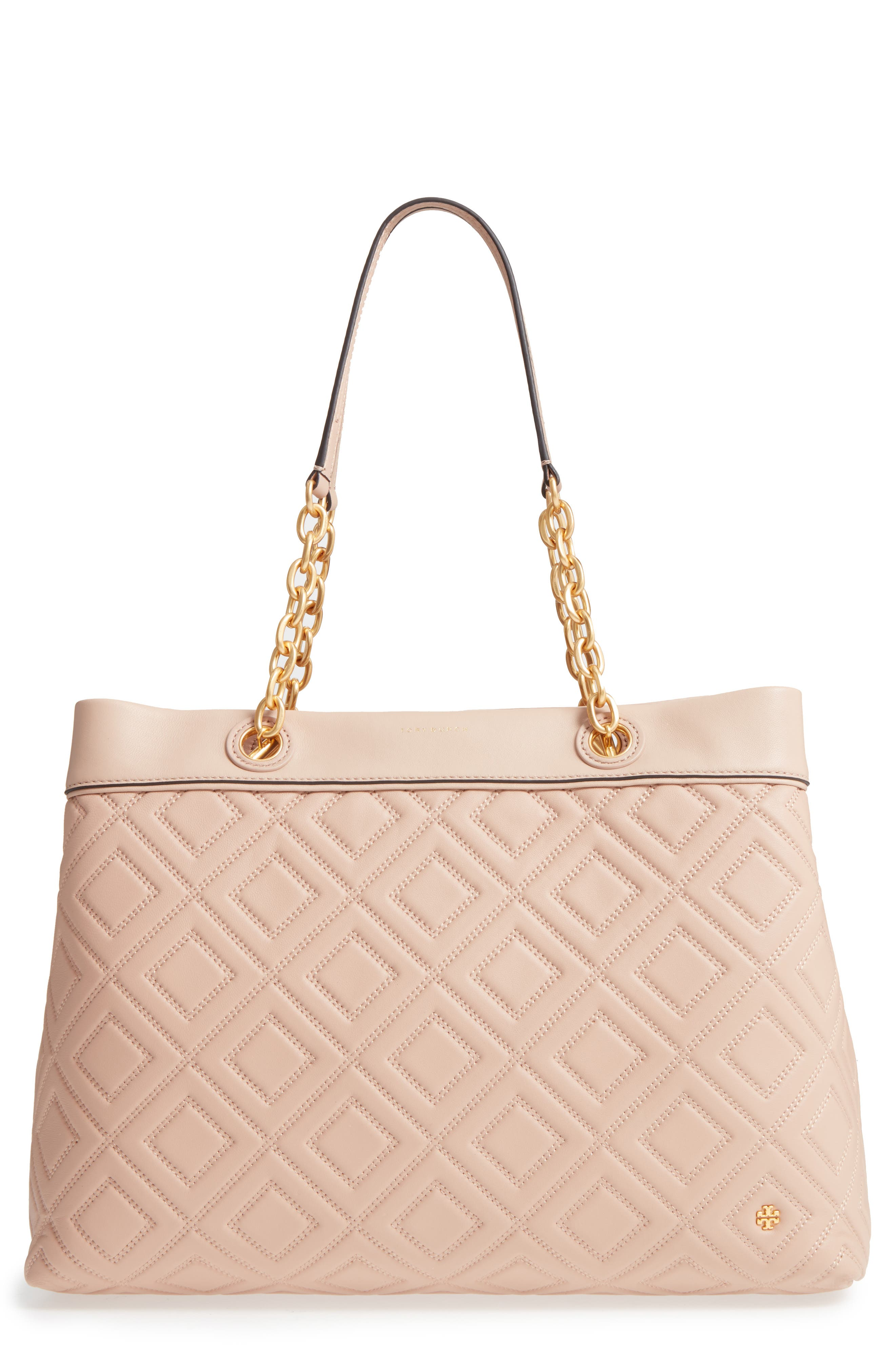 Alternate Image 1 Selected - Tory Burch Lousia Lambskin Leather Tote