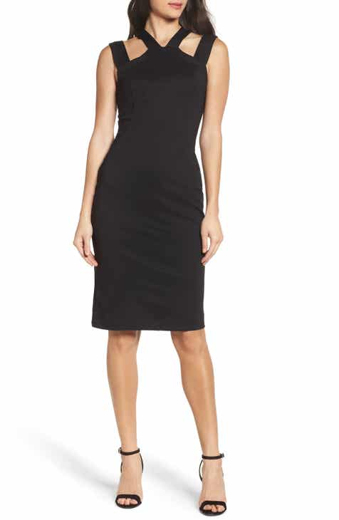Fraiche by J Drop Strap Sheath Dress by FRAICHE BY J