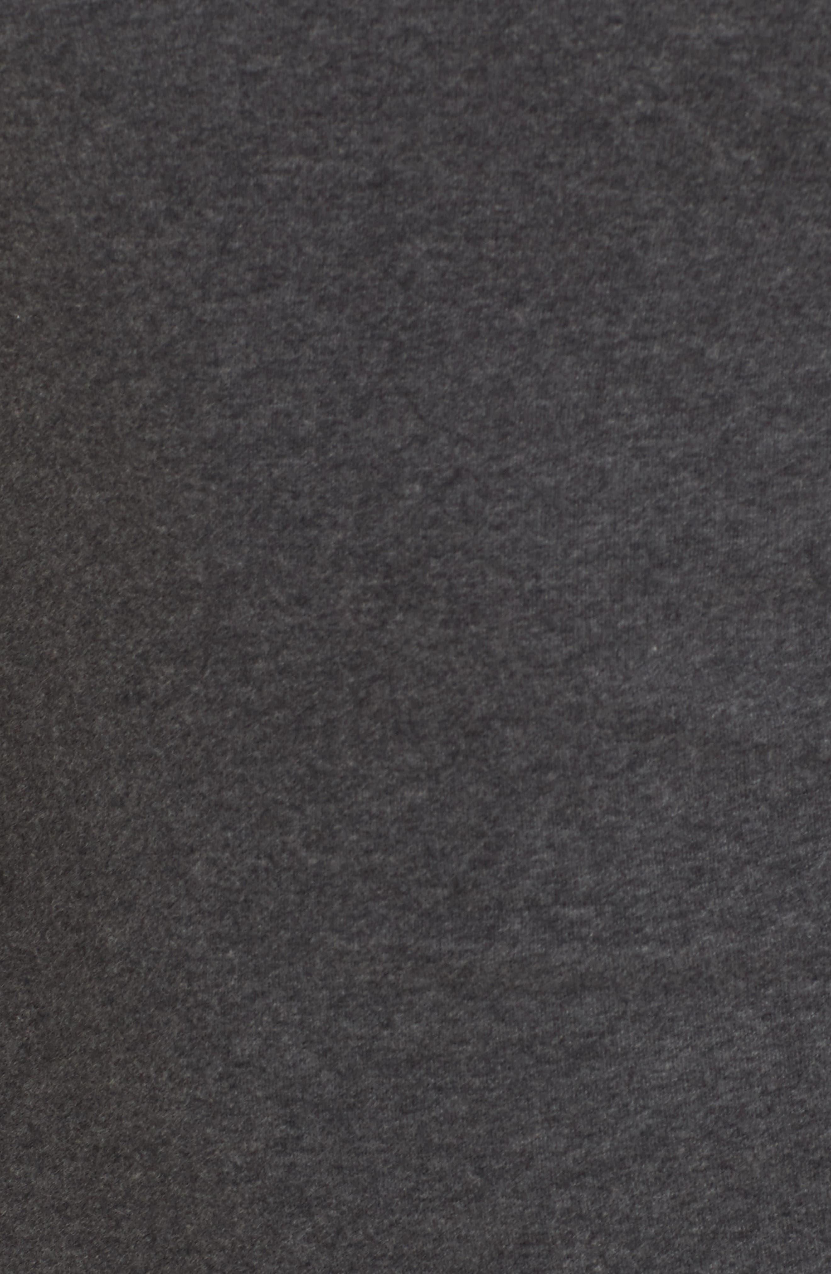 Alternate Image 5  - James Perse Scoop Back Knit Dress