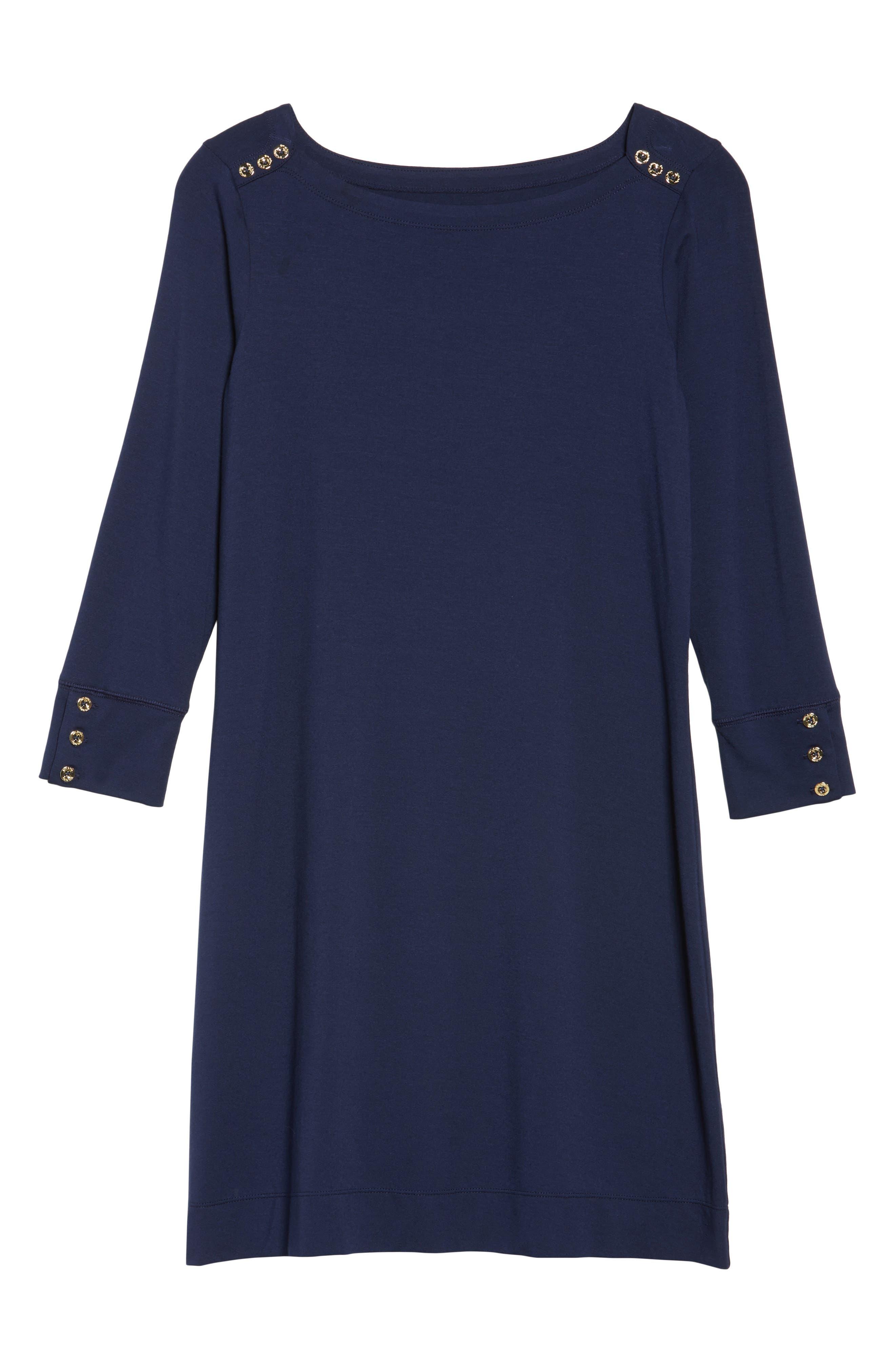 Sophie UPF 50+ Dress,                             Alternate thumbnail 6, color,                             True Navy