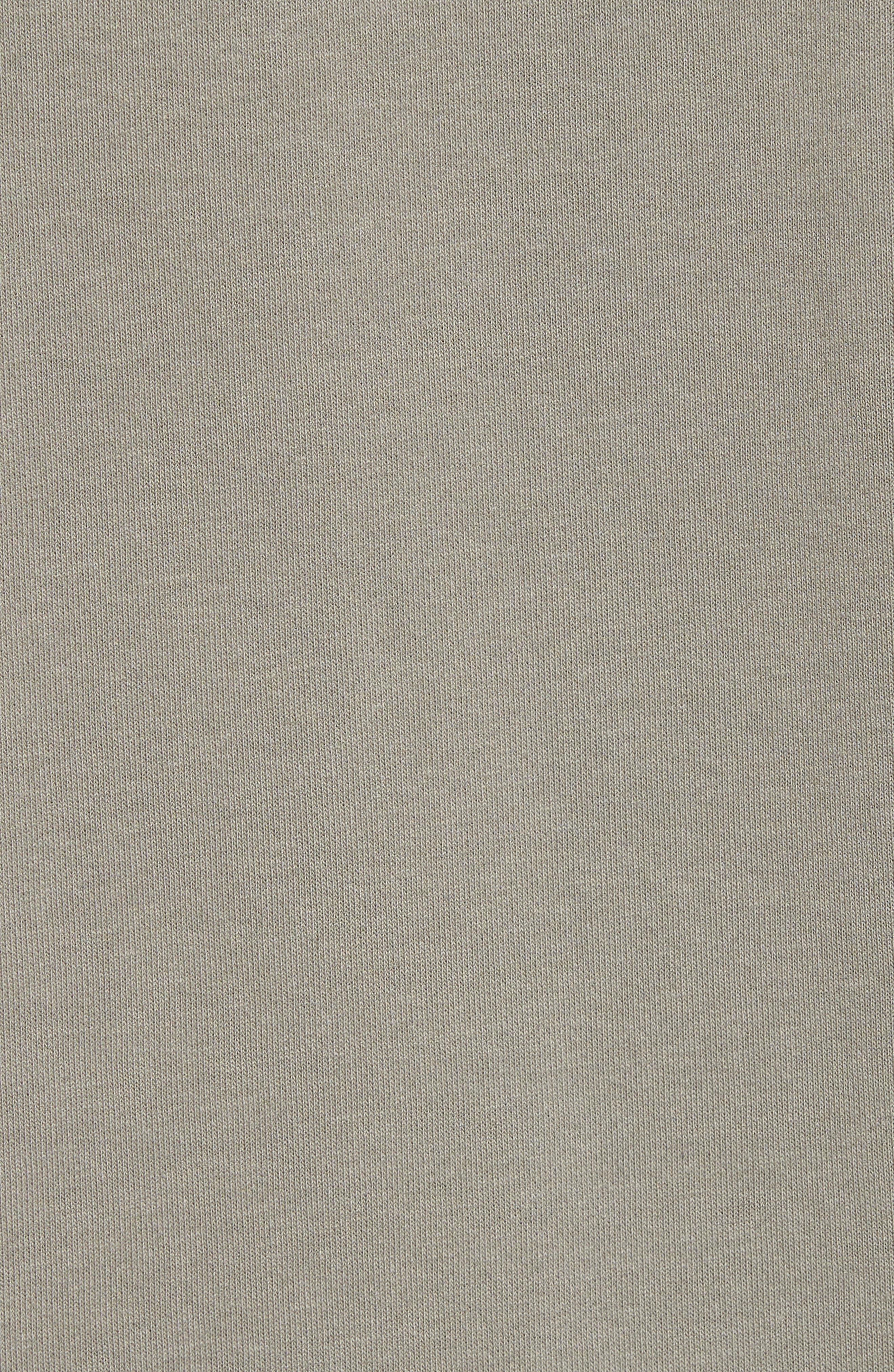 NSW AF1 Hoodie,                             Alternate thumbnail 5, color,                             Dark Stucco/ Light Bone
