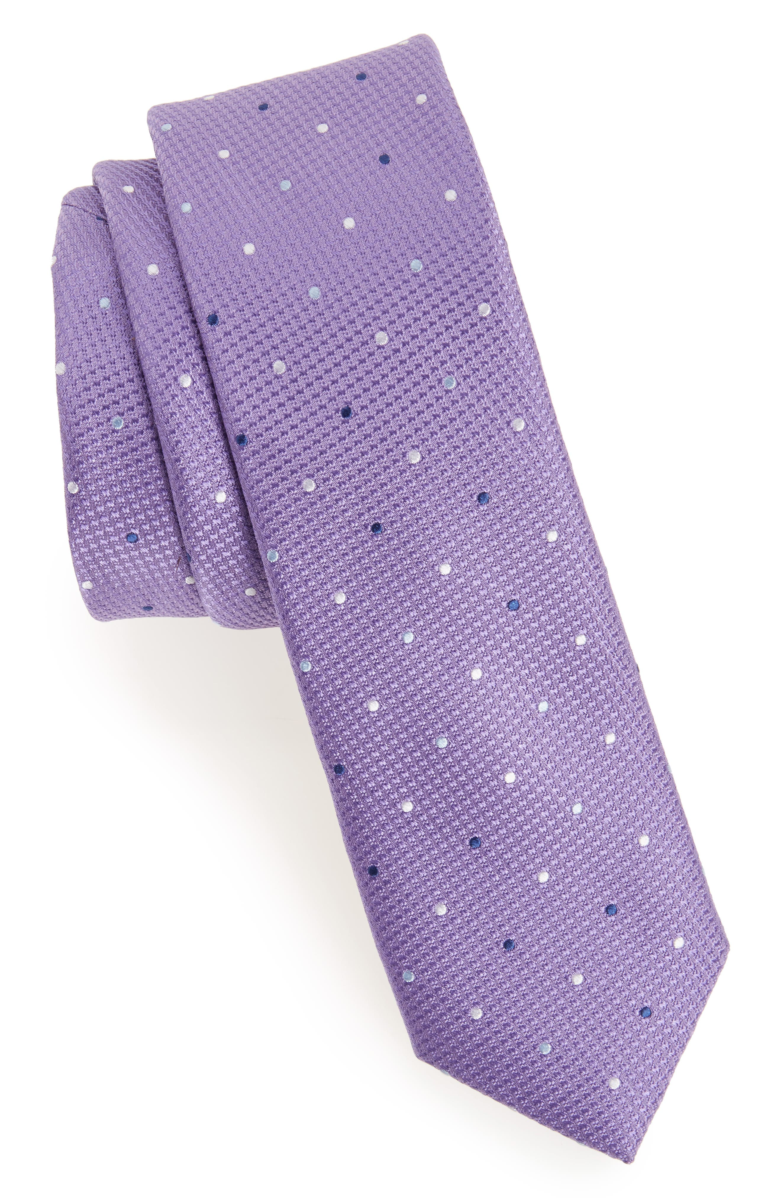 Nordstrom Dot Silk Tie (Big Boys)