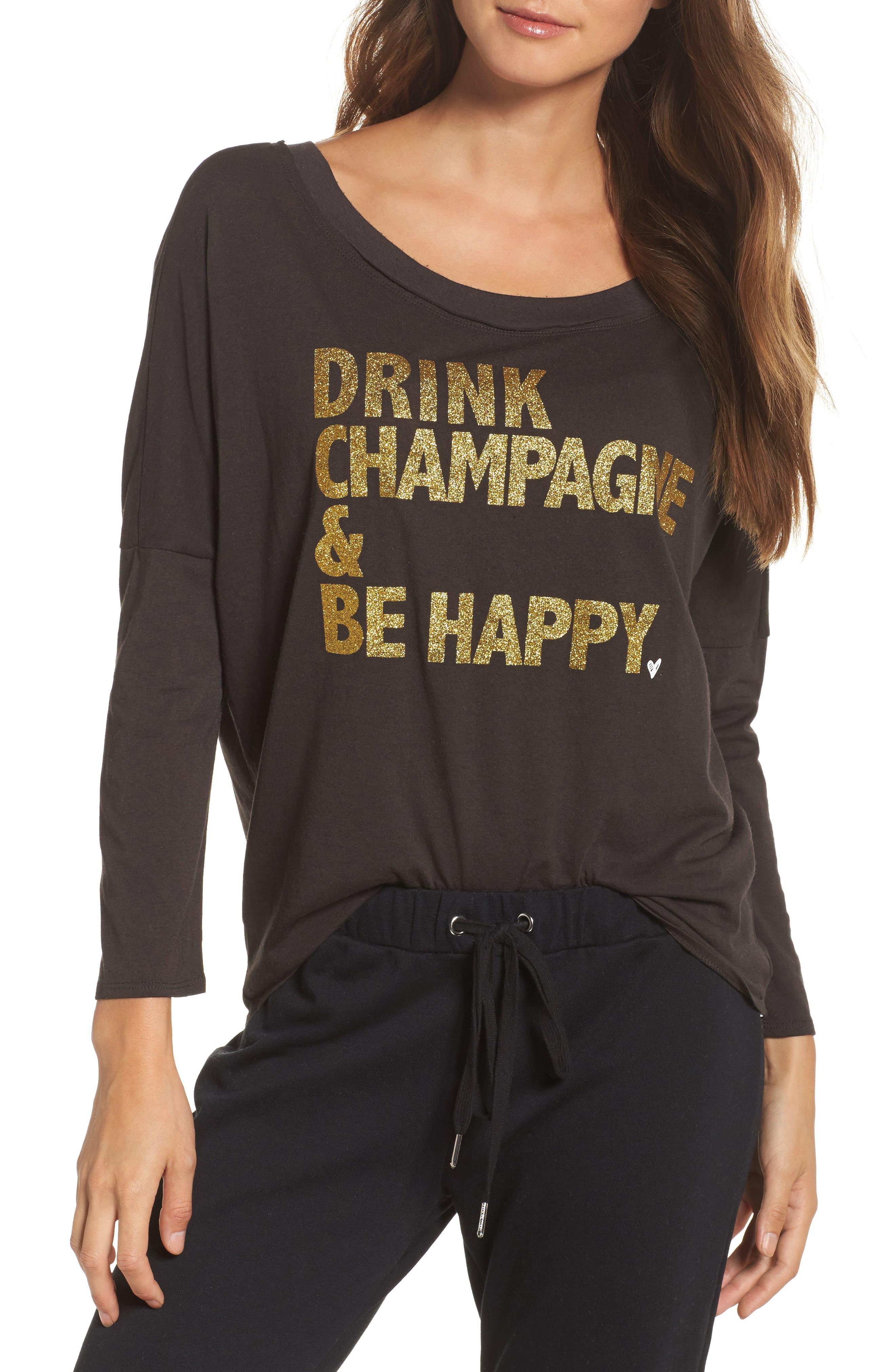 Main Image - Chaser Vintage Jersey Sweatshirt