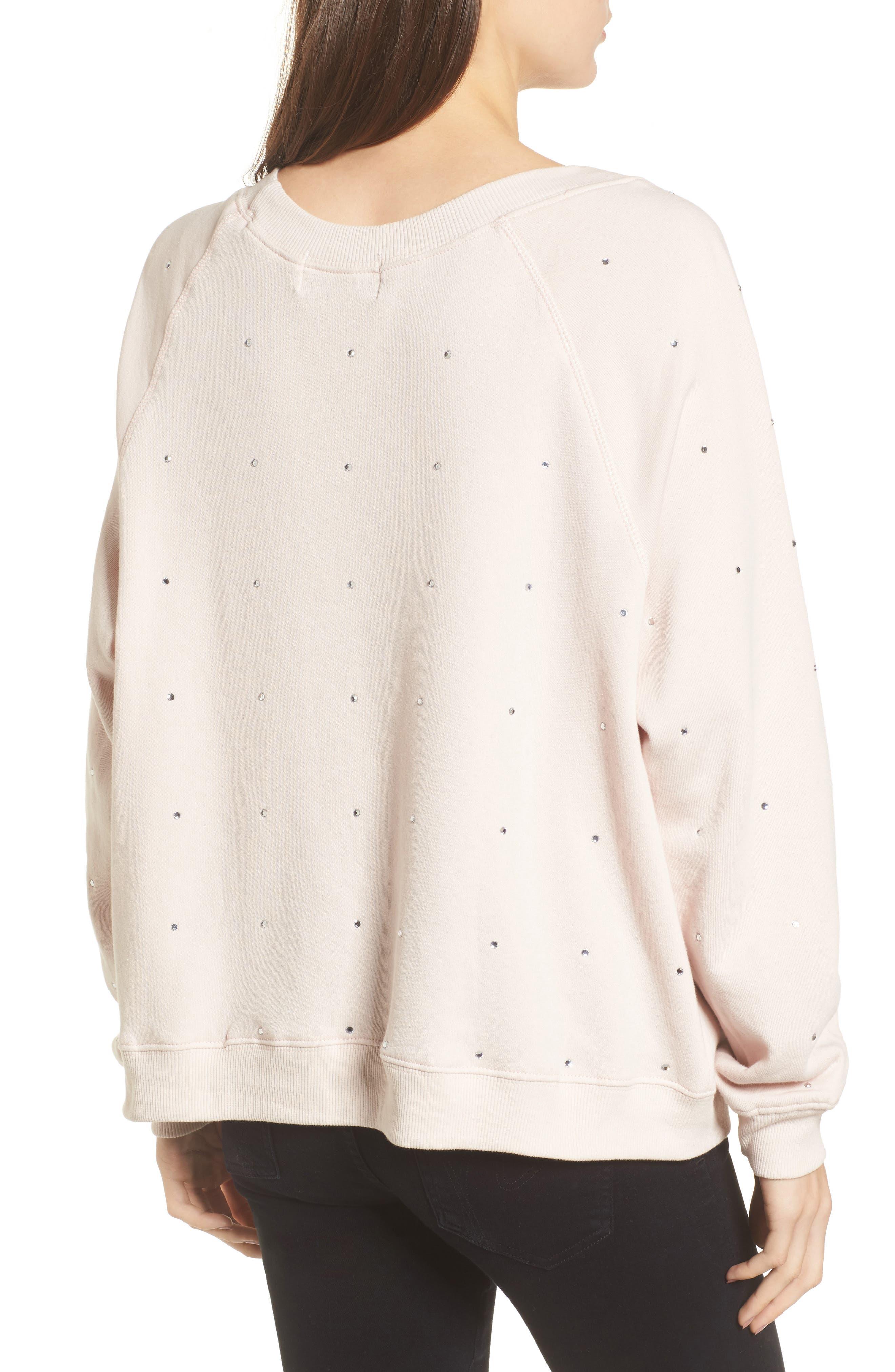 Glitz Sweatshirt,                             Alternate thumbnail 2, color,                             Iced Lavender