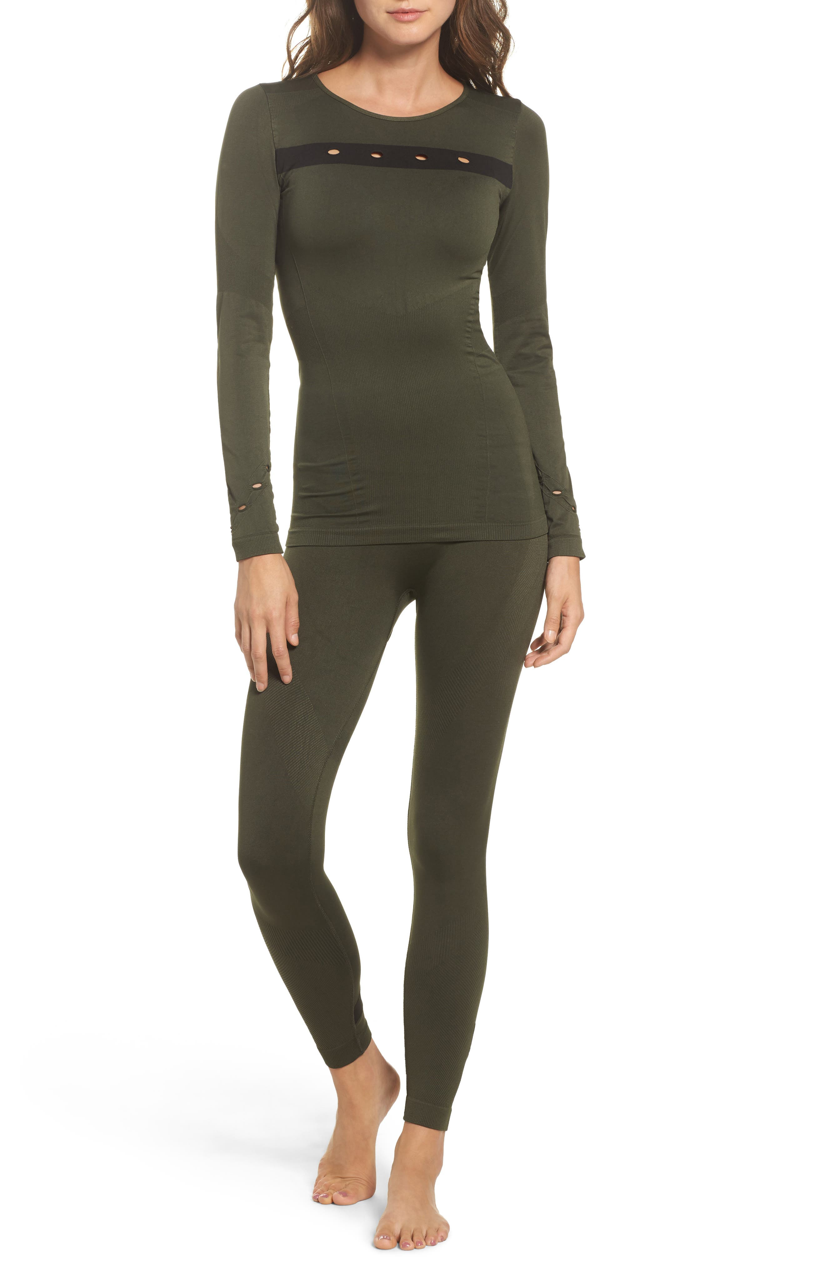 Niche Tights,                             Alternate thumbnail 7, color,                             Army