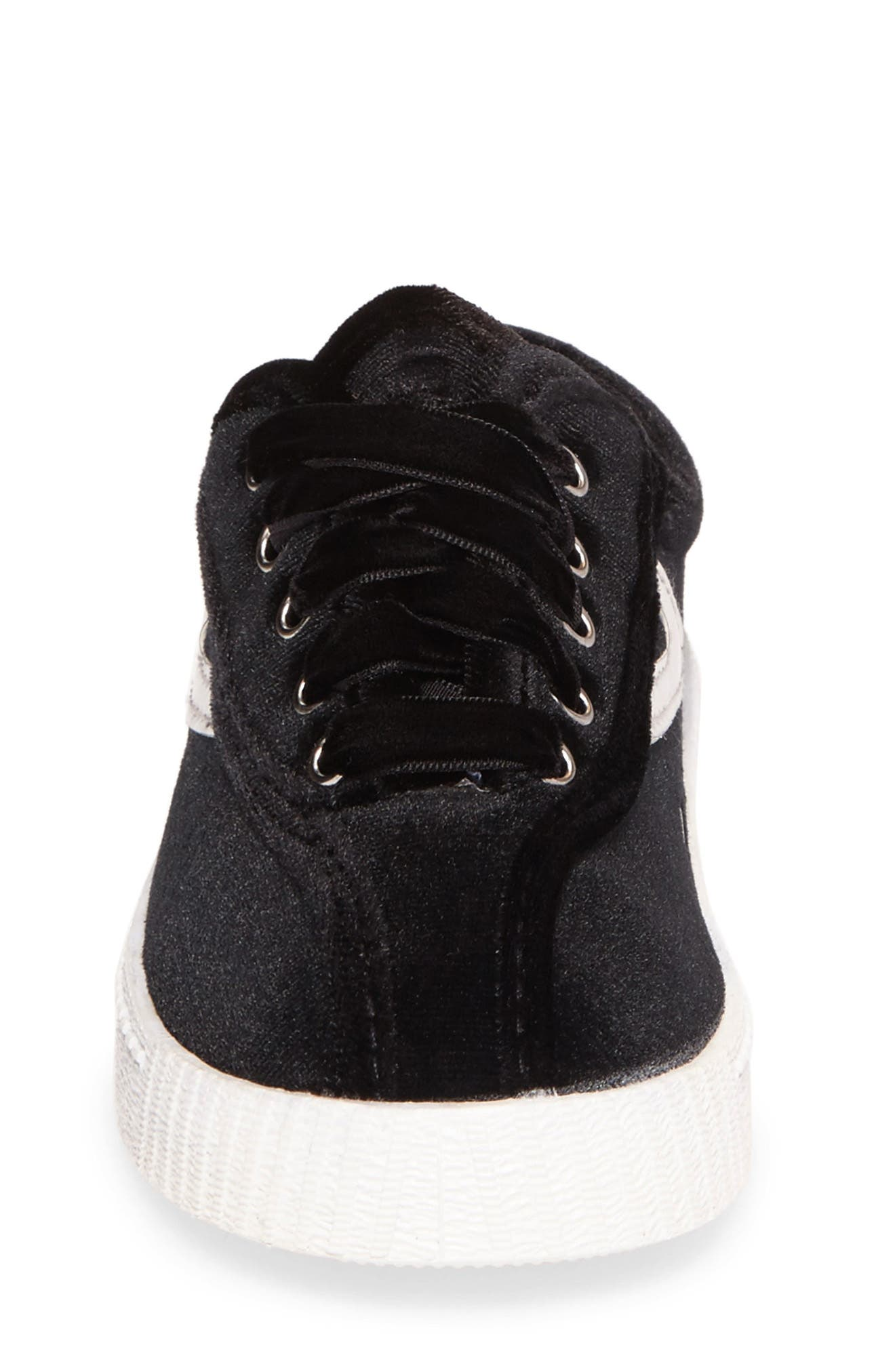Alternate Image 4  - Tretorn NYLite Velvet Sneaker (Walker, Toddler, Little Kid & Big Kid)