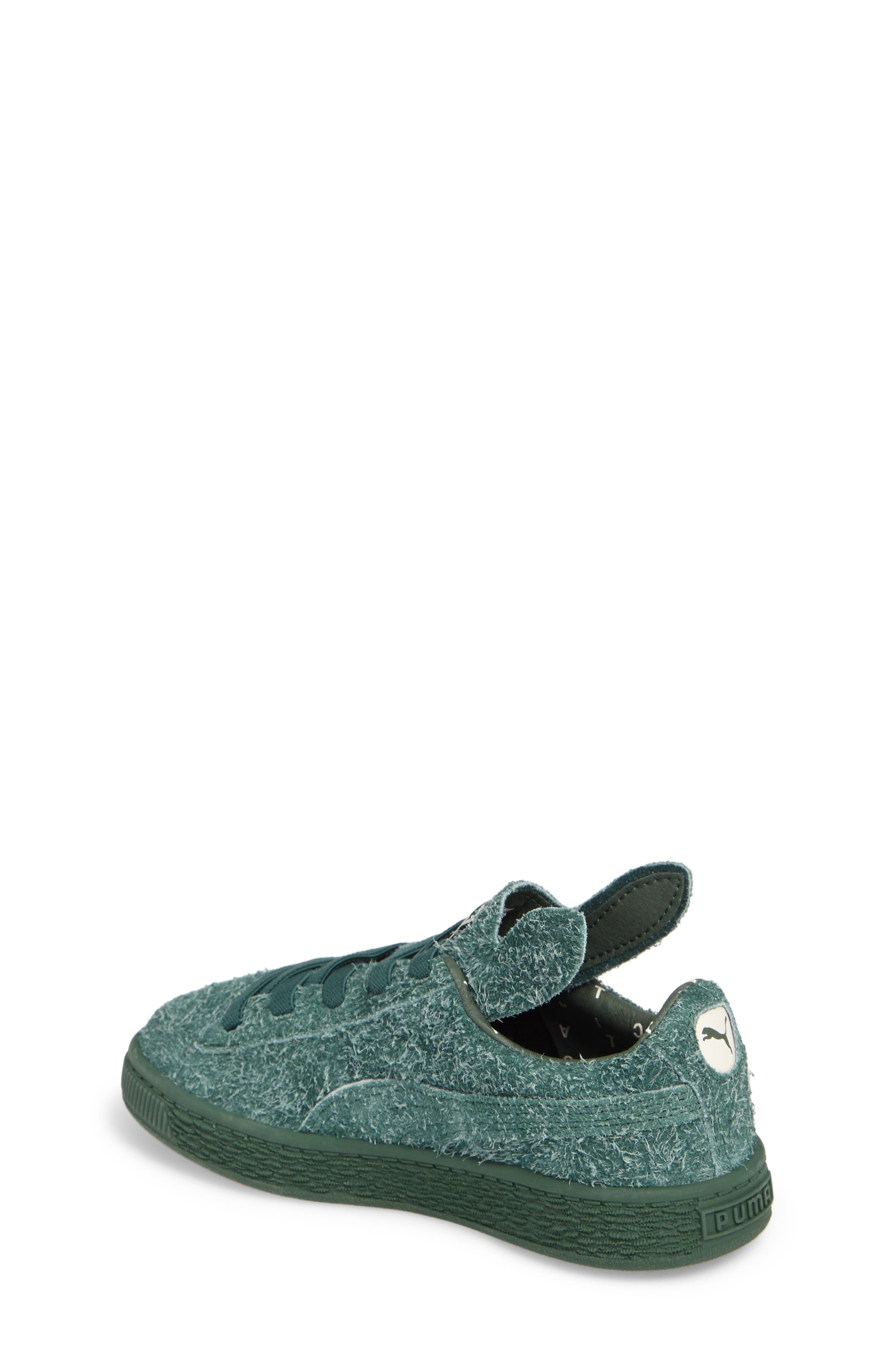 Alternate Image 2  - PUMA x tinycottons Basket Furry Sneaker (Baby, Walker, Toddler, Little Kid & Big Kid)