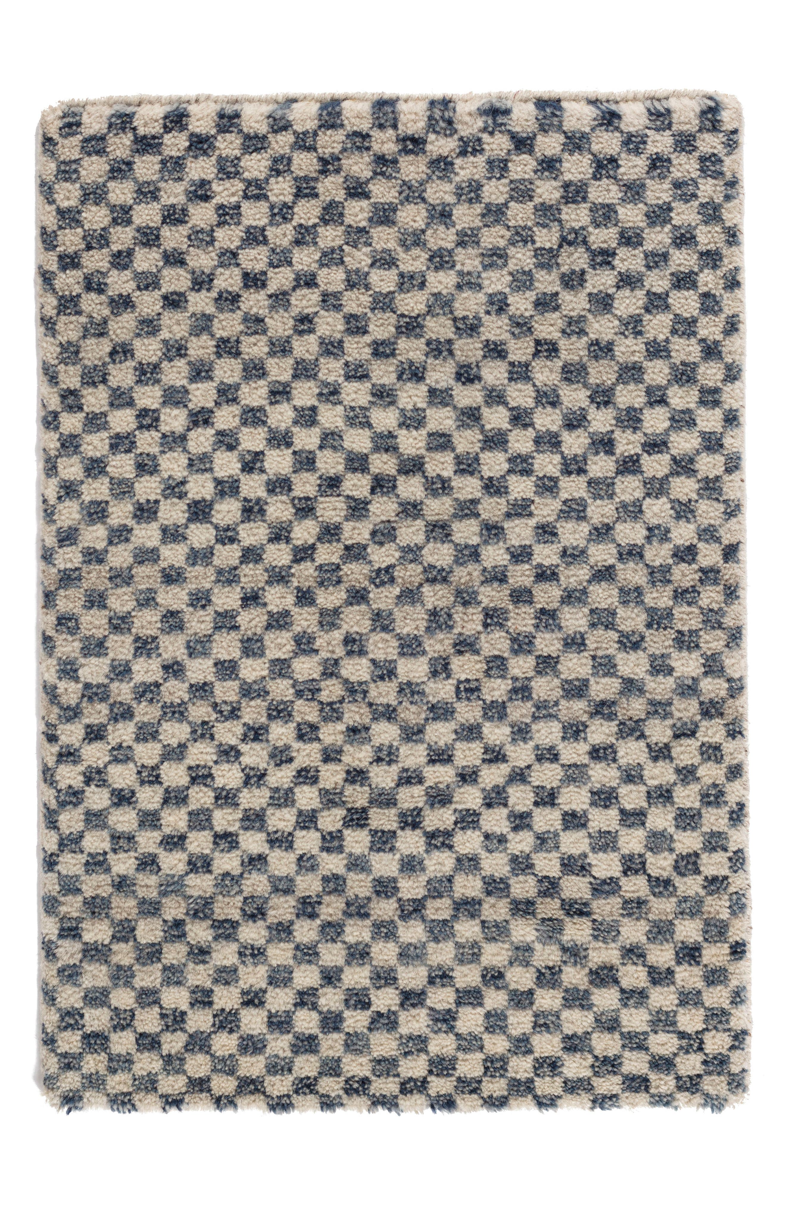 Citra Hand Knotted Rug,                             Alternate thumbnail 2, color,                             Denim