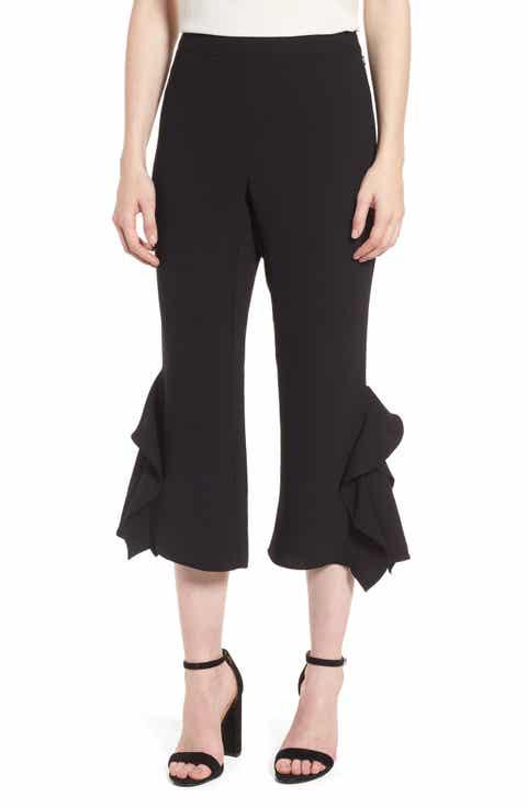 Chelsea28 Ruffle Crop Pants