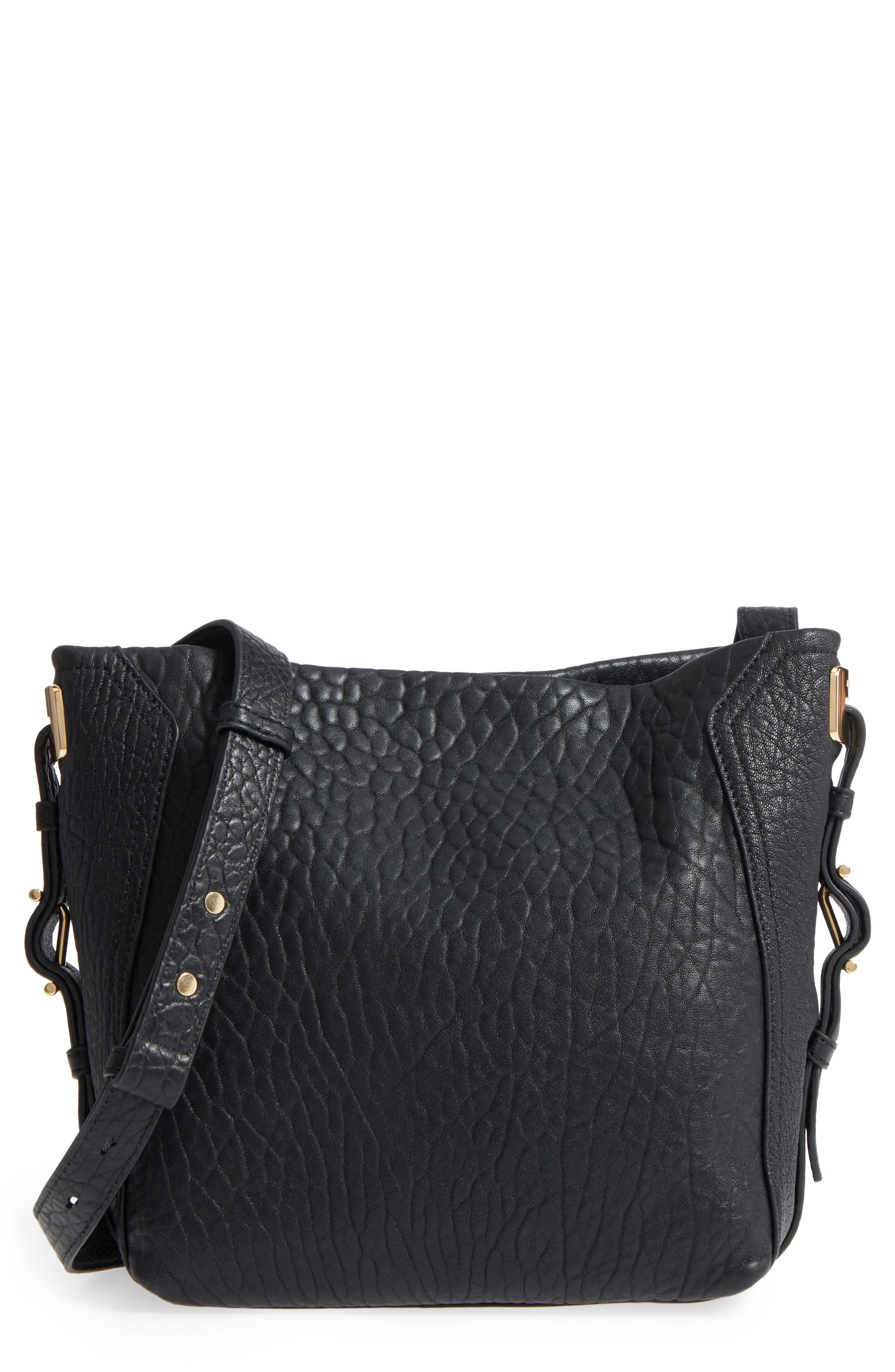 Vince Camuto Fava Leather Bucket Bag