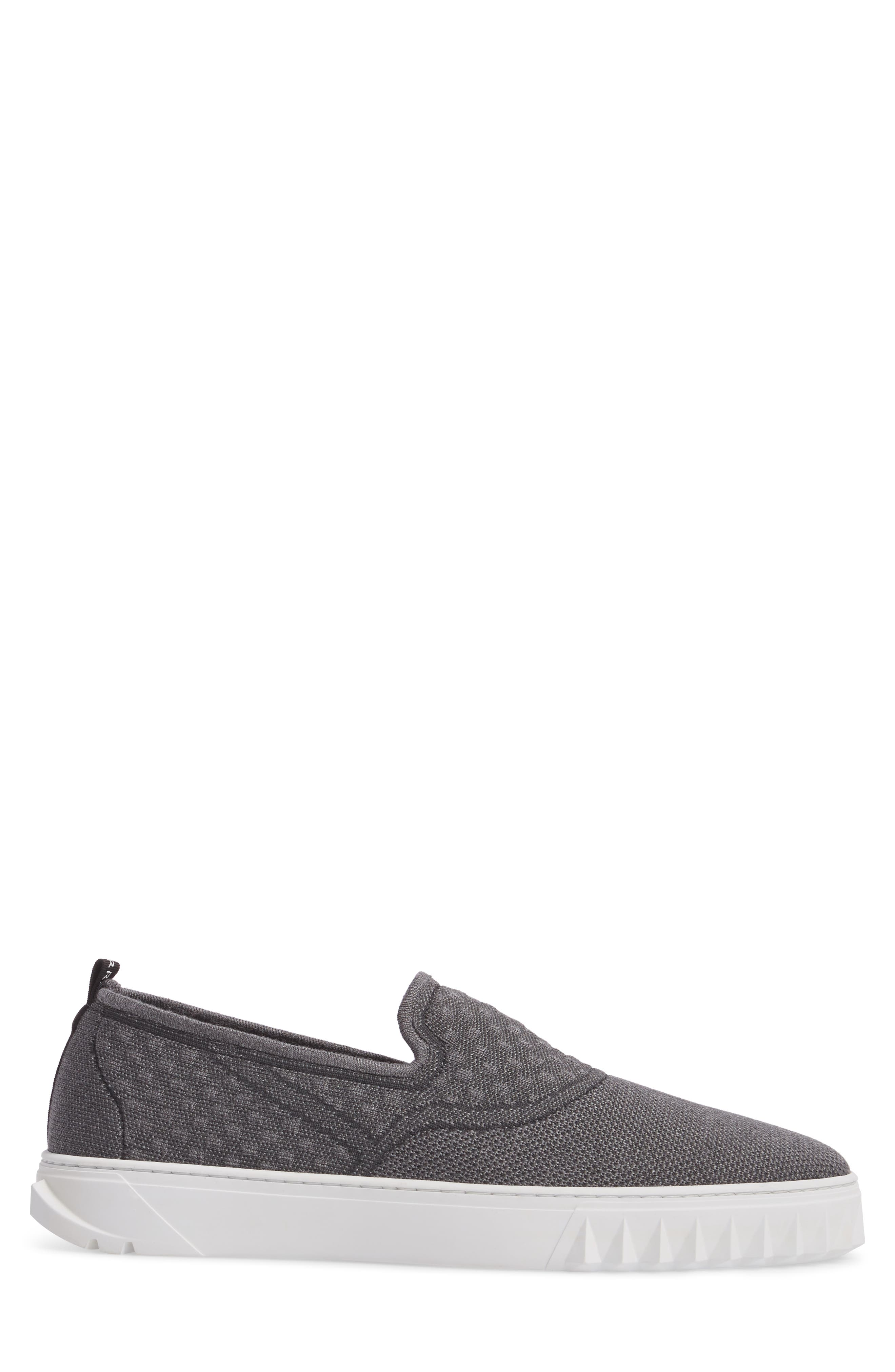 Clay Slip-On Sneaker,                             Alternate thumbnail 3, color,                             Charcoal