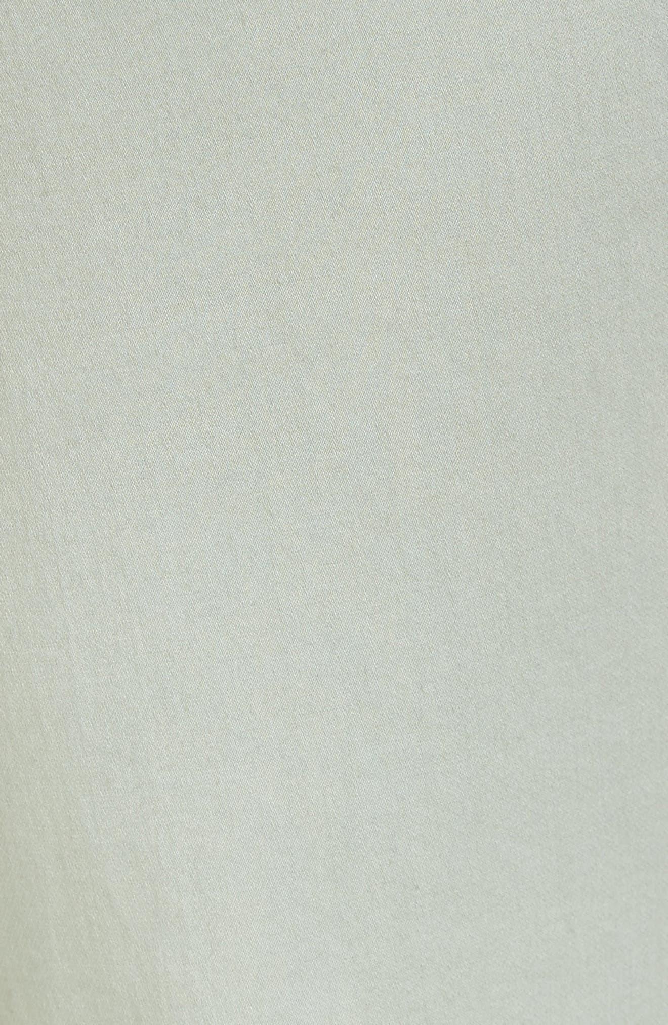 Carter Knit Denim Girlfriend Jeans,                             Alternate thumbnail 5, color,                             Beach Glass