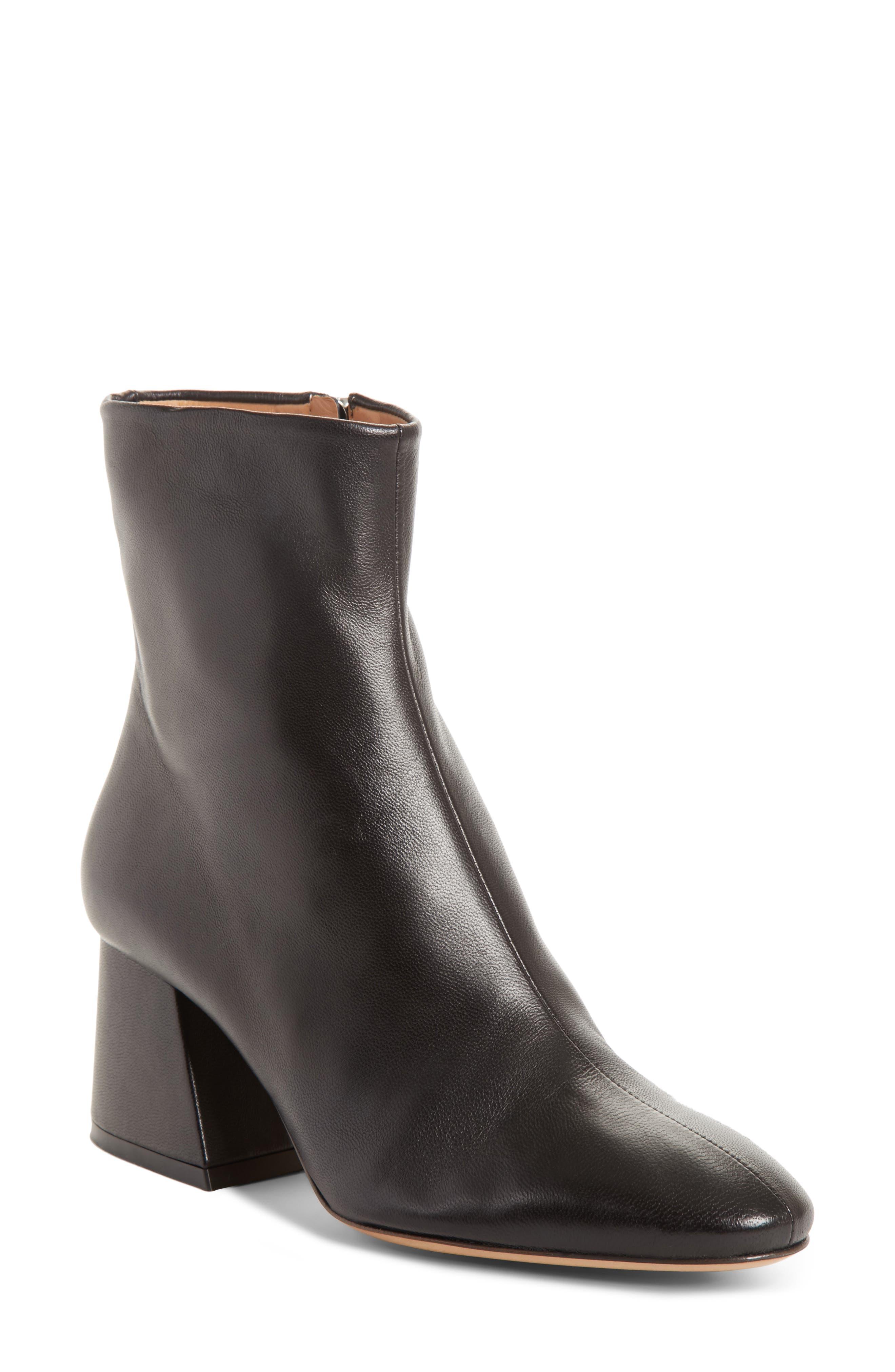 Maison Margiela Flare Heel Ankle Boot (Women)