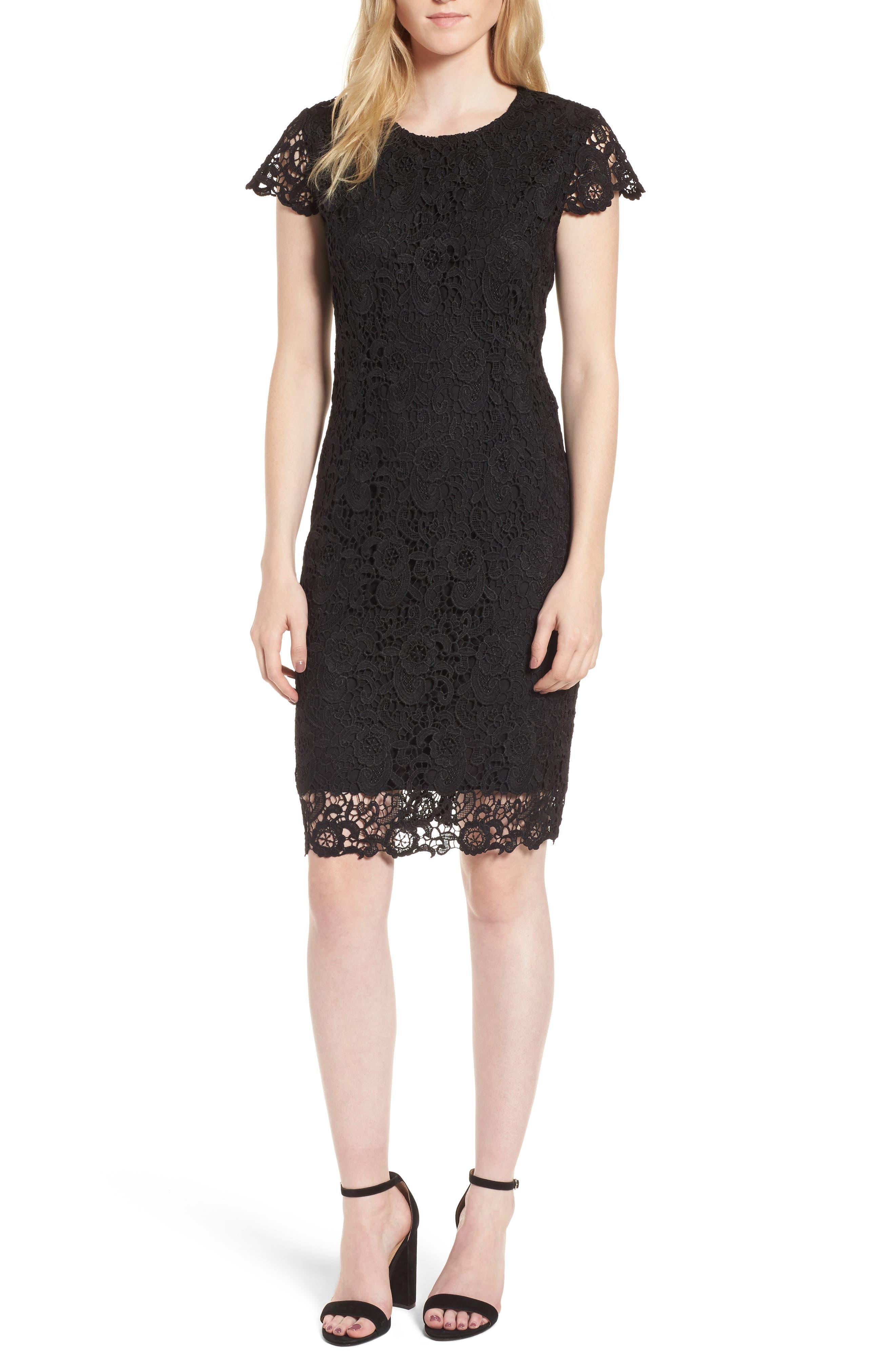 Chesea28 Lace Sheath Dress