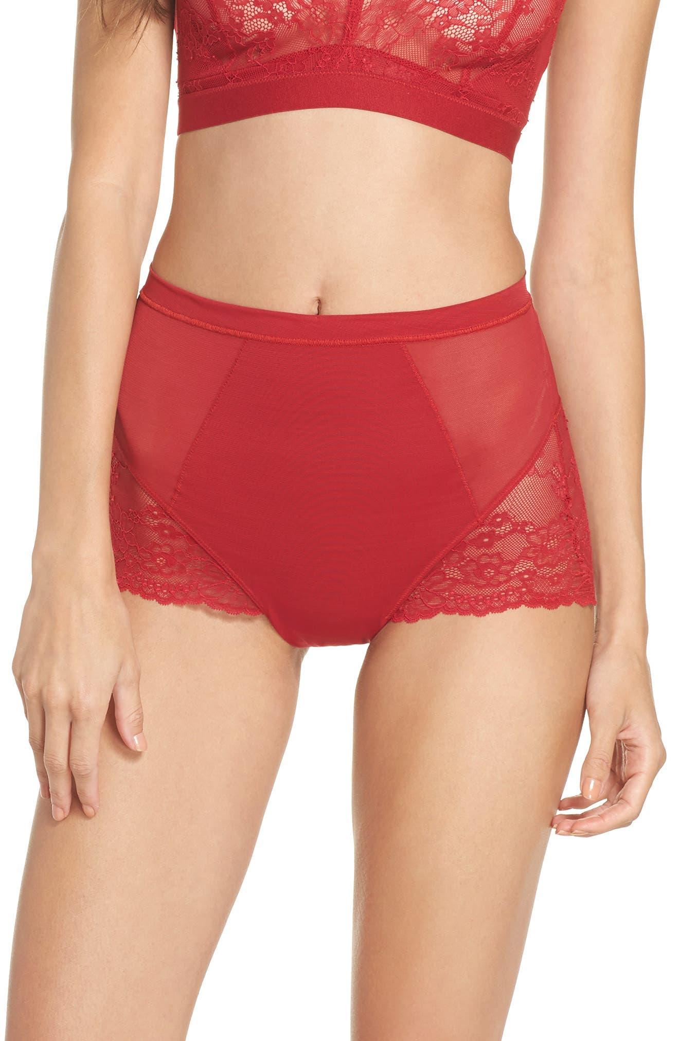 Alternate Image 1 Selected - SPANX® Spotlight On Lace Briefs