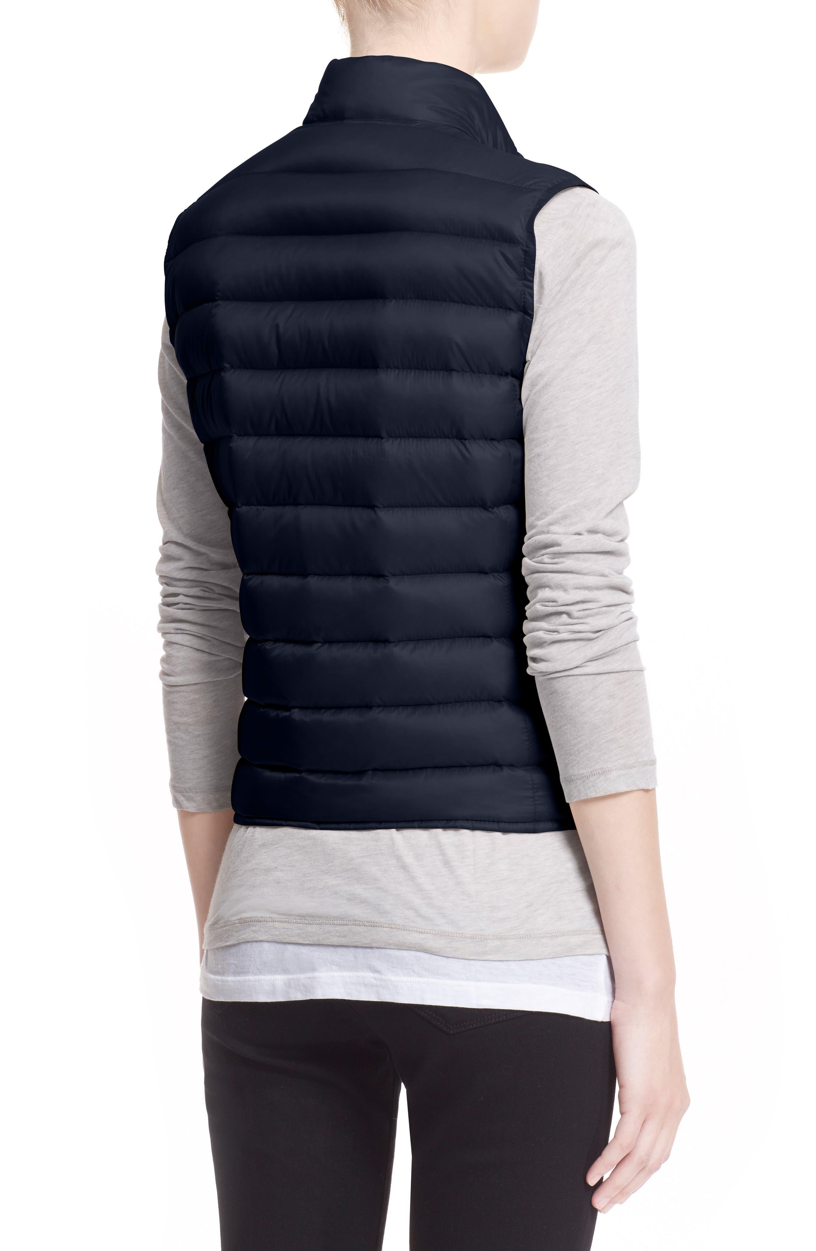 Alternate Image 2  - Moncler 'Liane' Water Resistant Short Down Vest