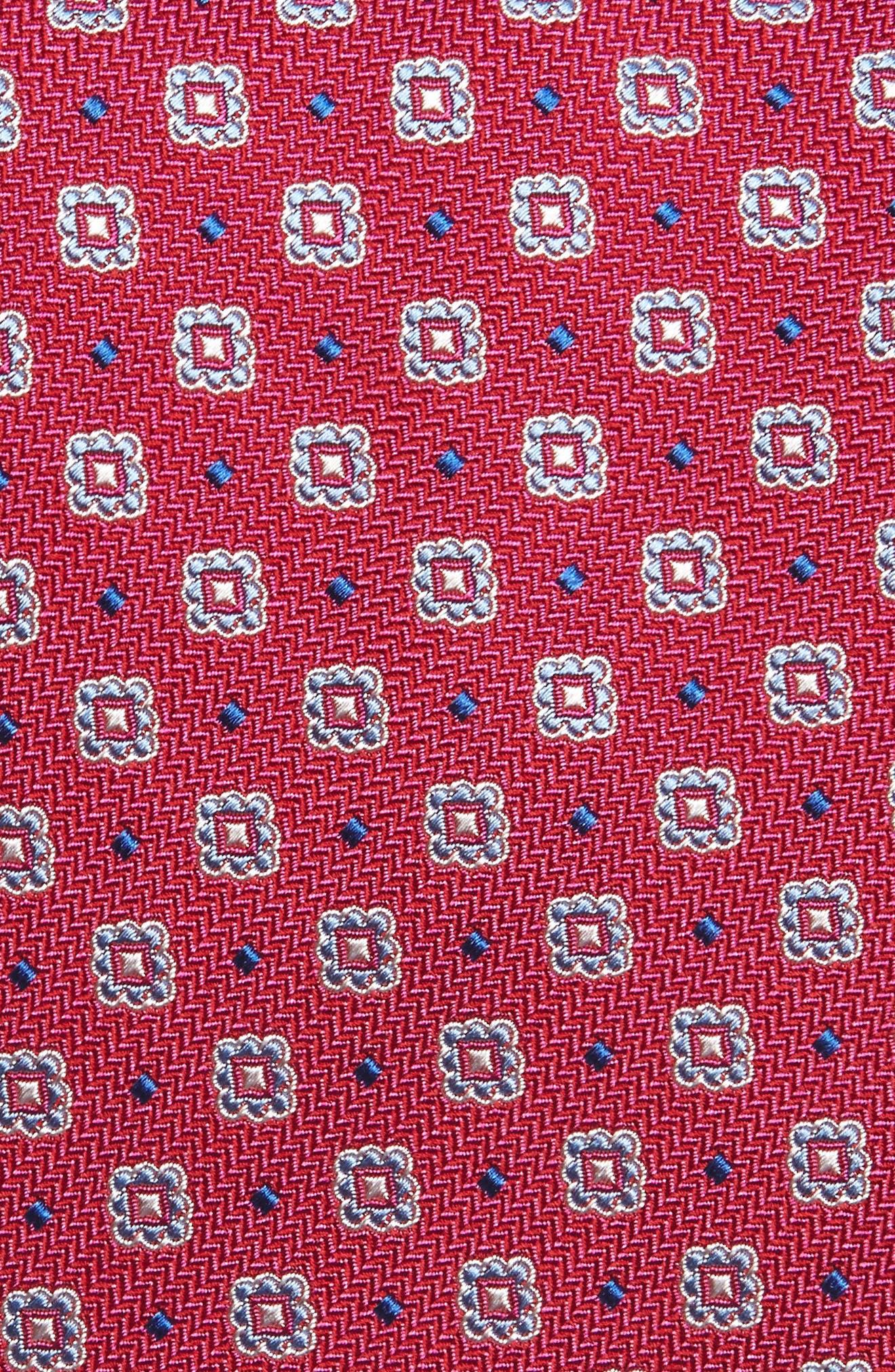 Alternate Image 2  - David Donahue Neat Silk Tie