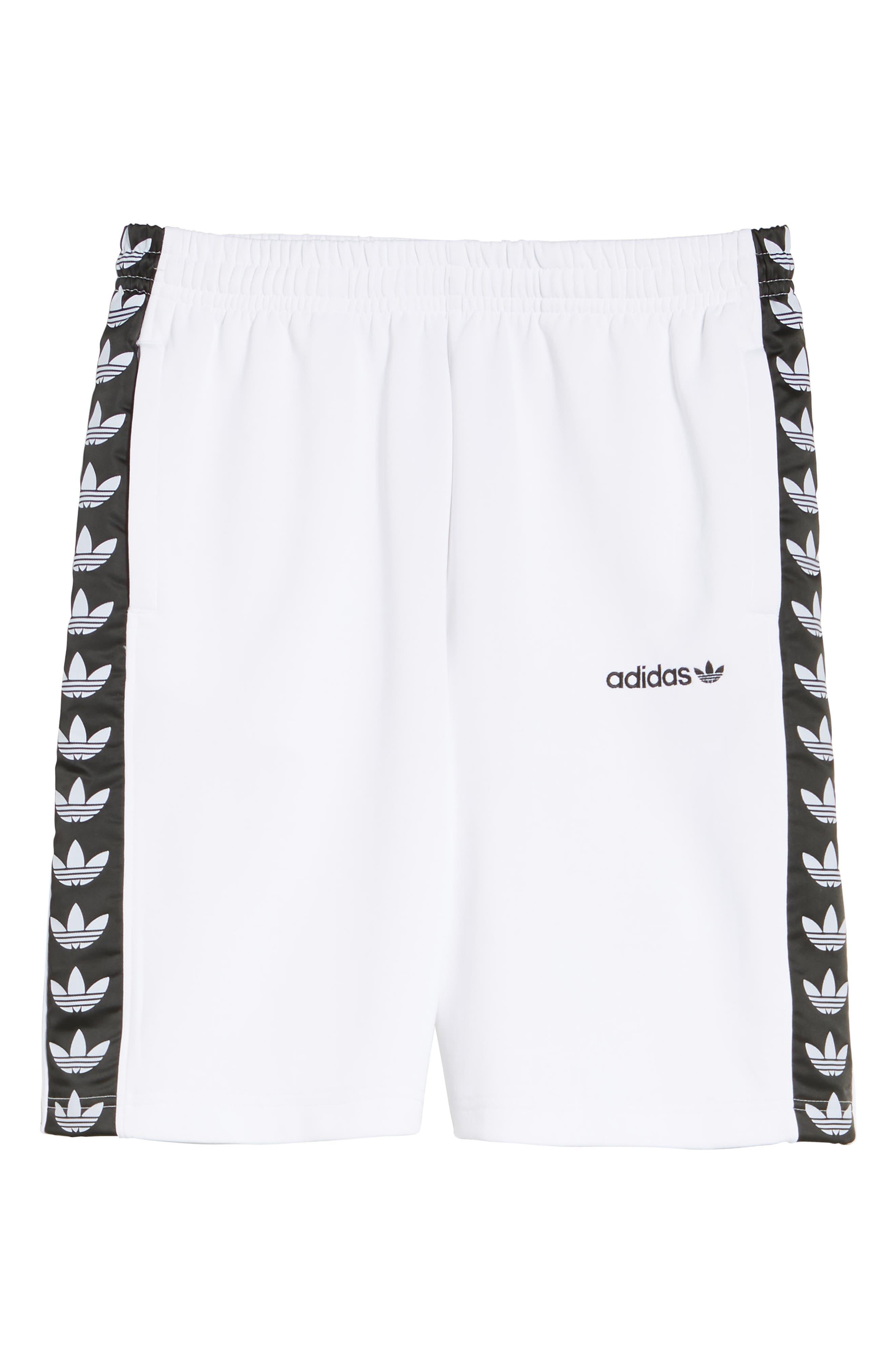 Originals TNT Shorts,                             Alternate thumbnail 6, color,                             White