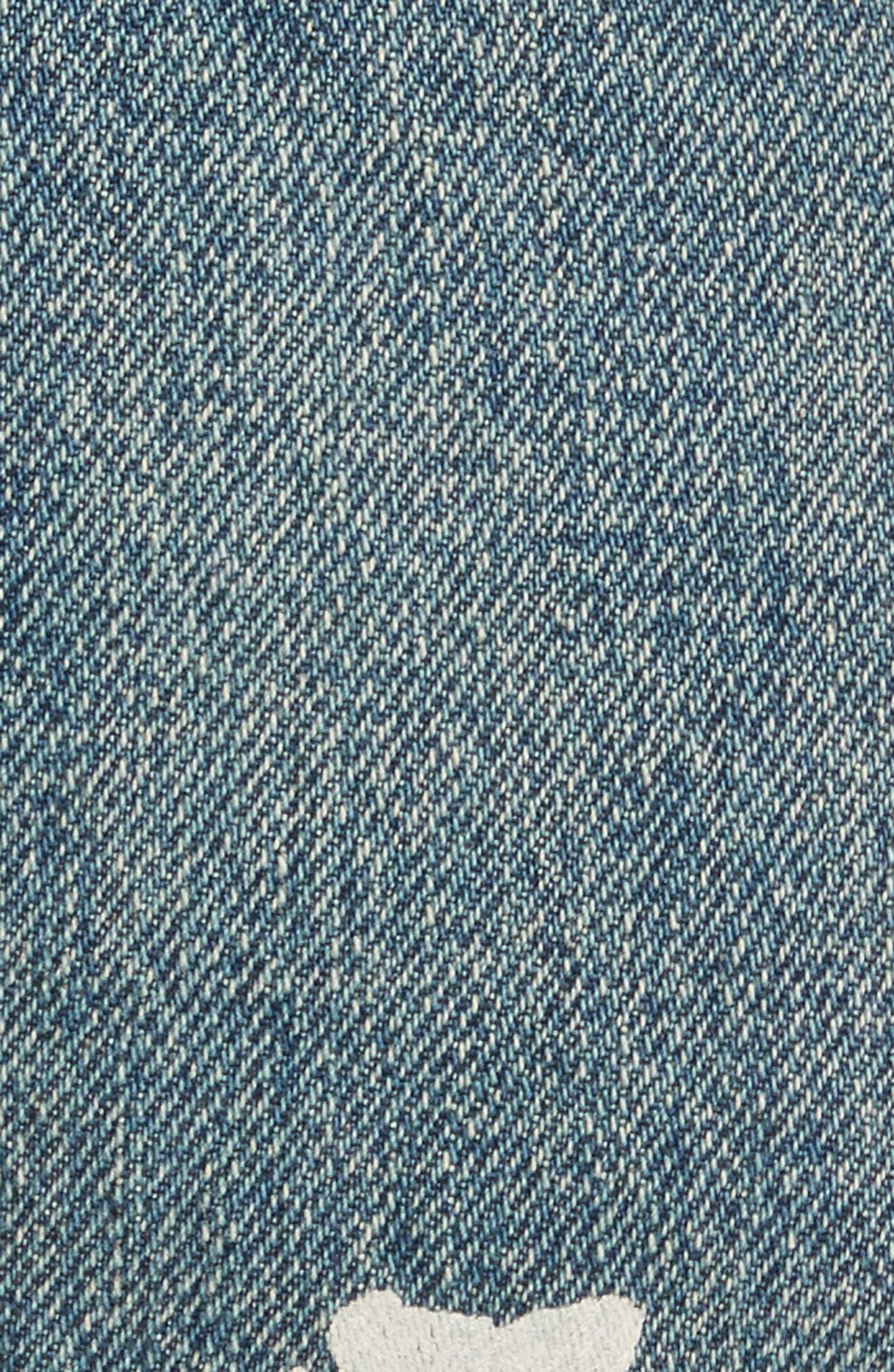 Re-Edition Painter Jeans,                             Alternate thumbnail 6, color,                             Paint Splatter