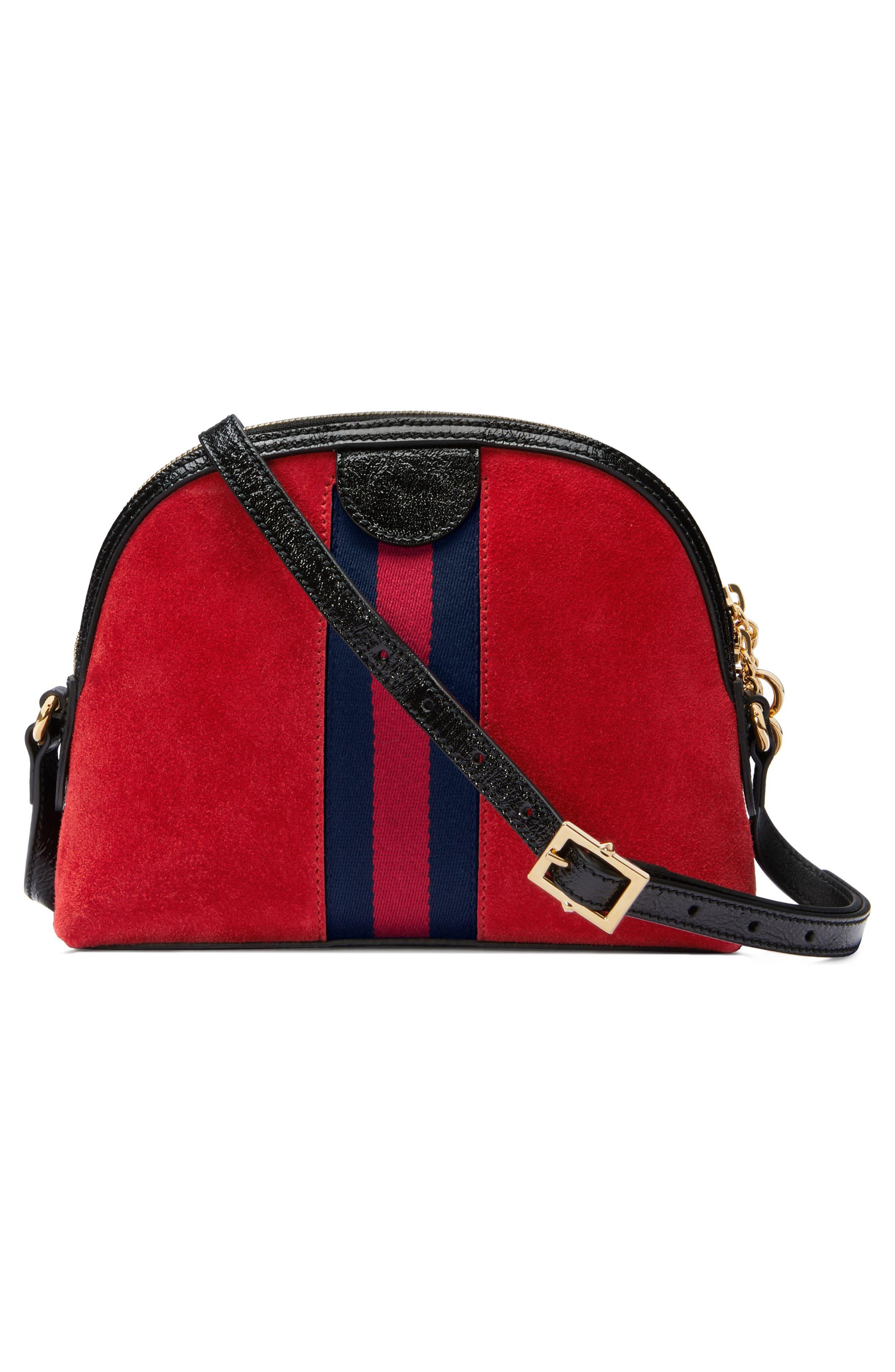 Alternate Image 2  - Gucci Small Suede Shoulder Bag