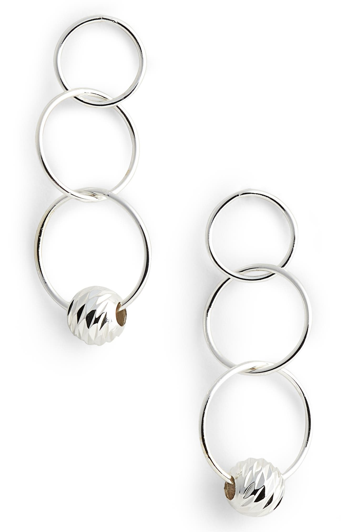 Main Image - Argento Vivo Triple Drop Earrings