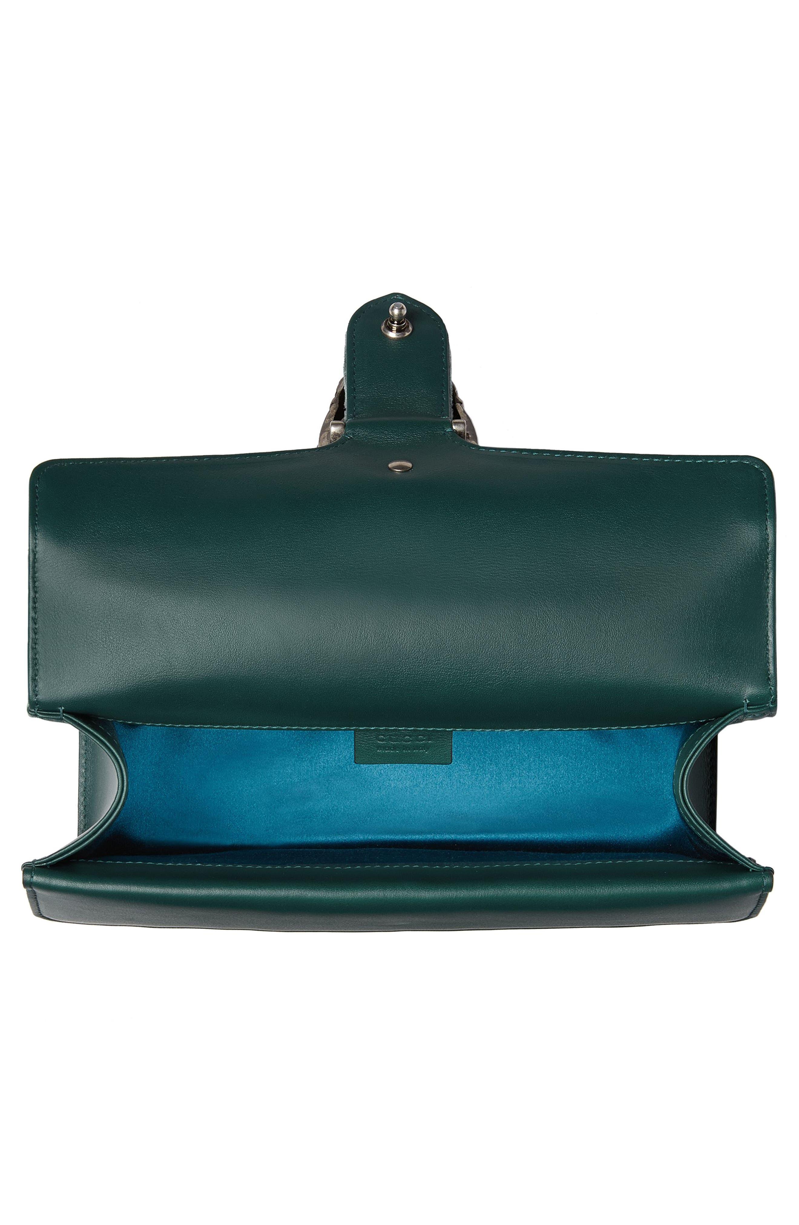 Alternate Image 4  - Gucci Small Dionysus GG Velvet Shoulder Bag