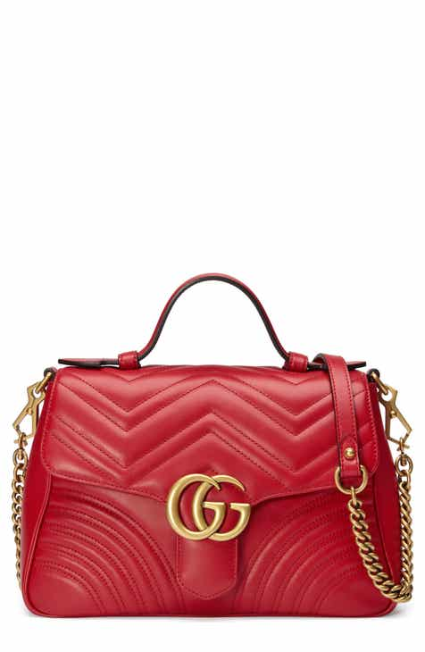8667f324b53 Gucci Small GG Marmont 2.0 Matelassé Leather Top Handle Bag