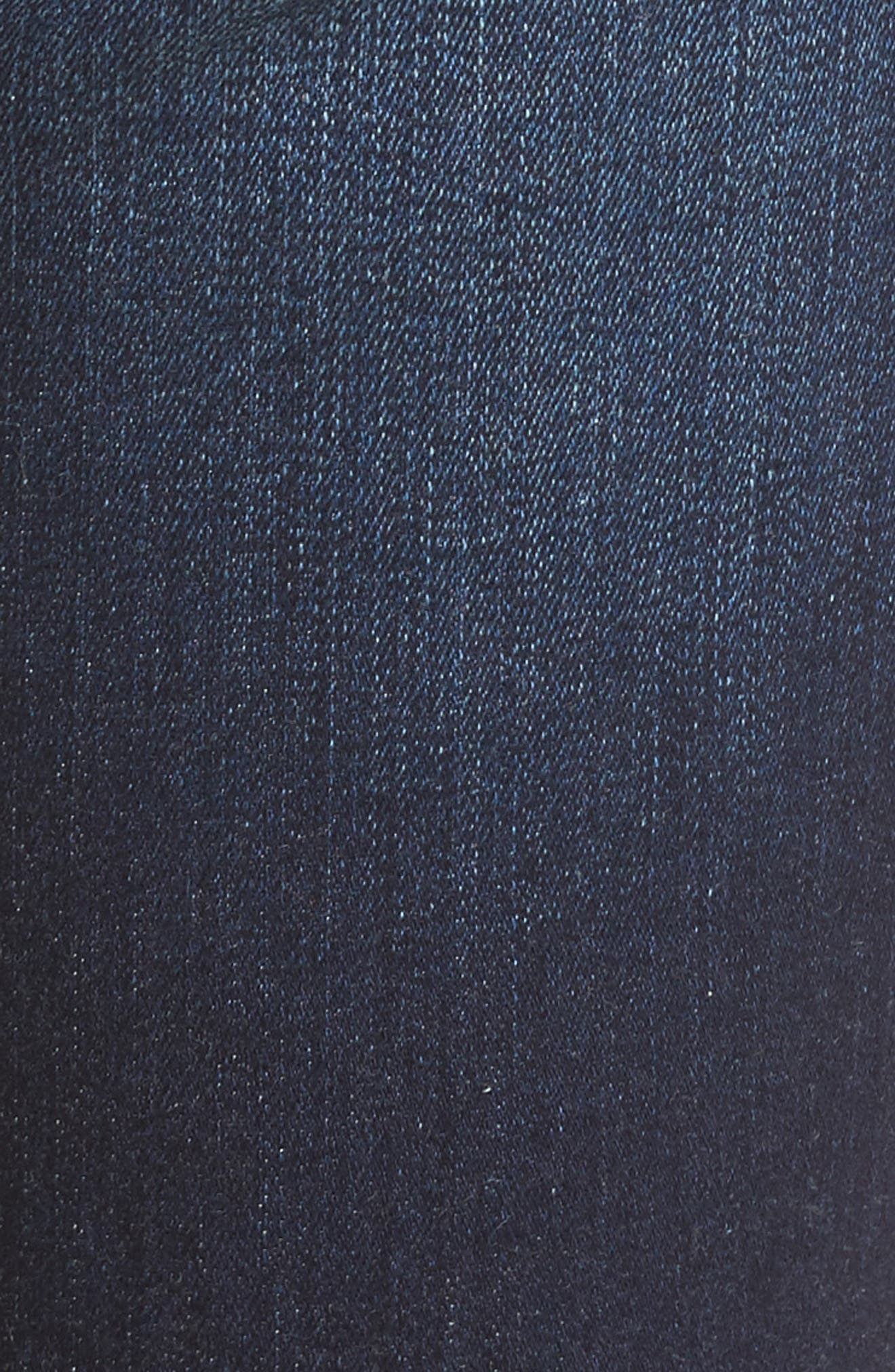 Alina Release Hem Stretch Ankle Jeans,                             Alternate thumbnail 6, color,                             Bezel