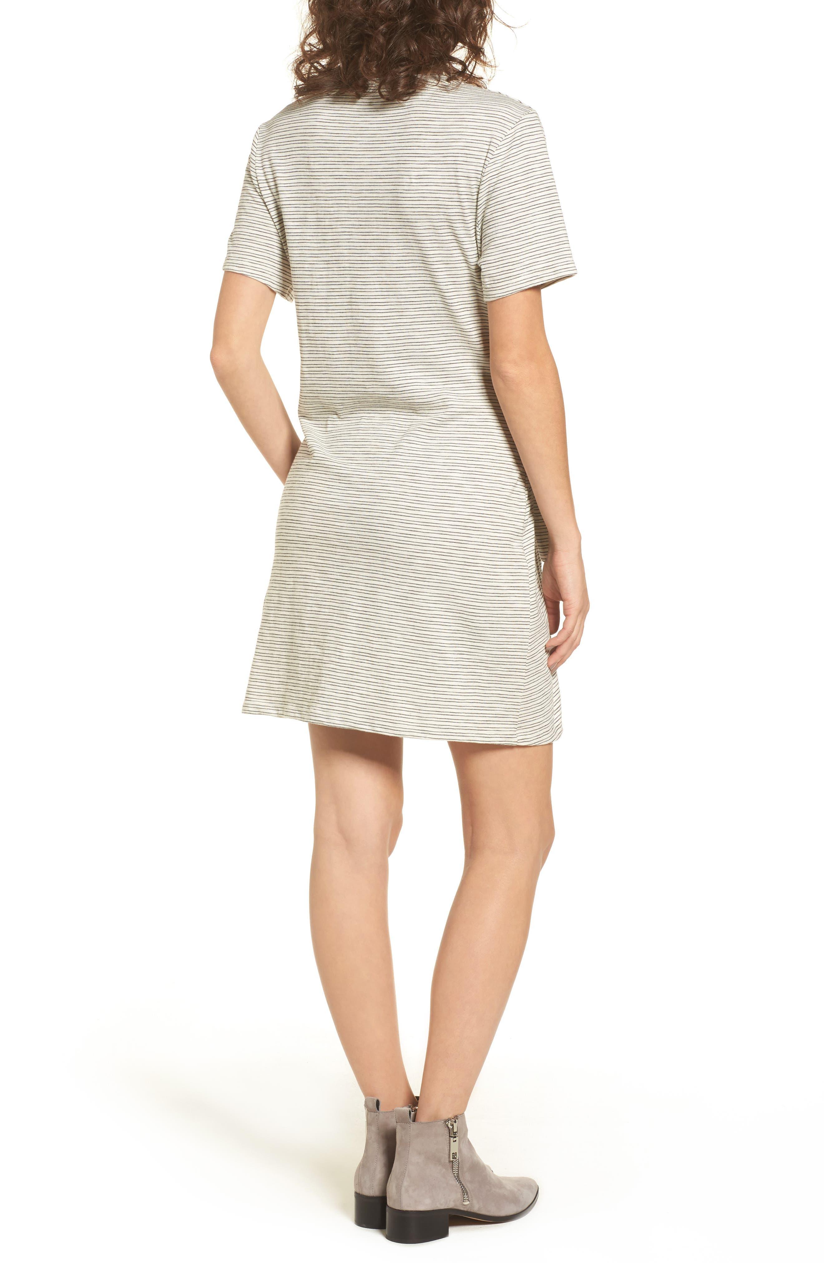 Alternate Image 2  - Side Knot Tee Dress