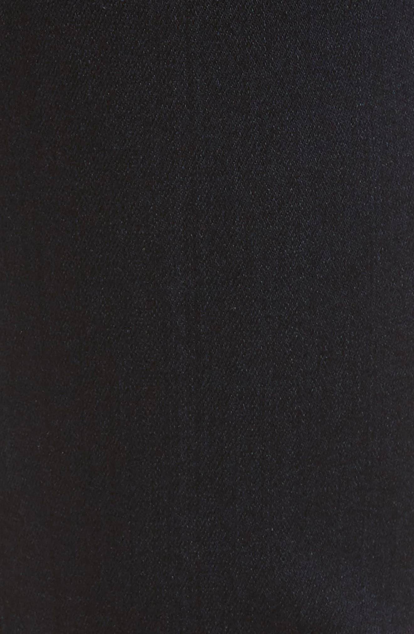 Alternate Image 5  - PAIGE Transcend - Edgemont Ultra Skinny Jeans (Cherie)