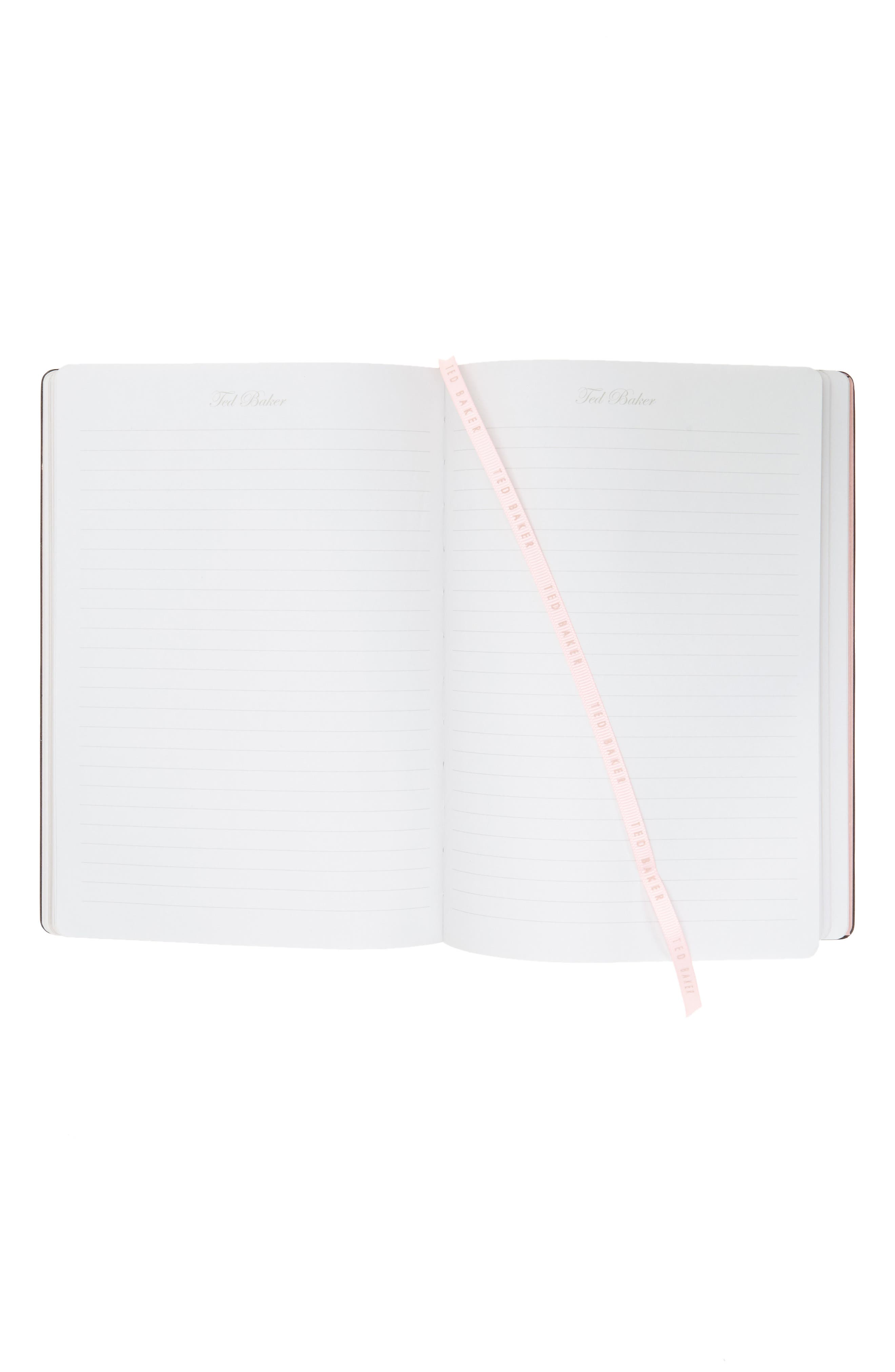 Wild and Wolf x Ted Baker London In Ore of You Gemstone Notebook with Pencil,                             Alternate thumbnail 3, color,                             Rose Quartz