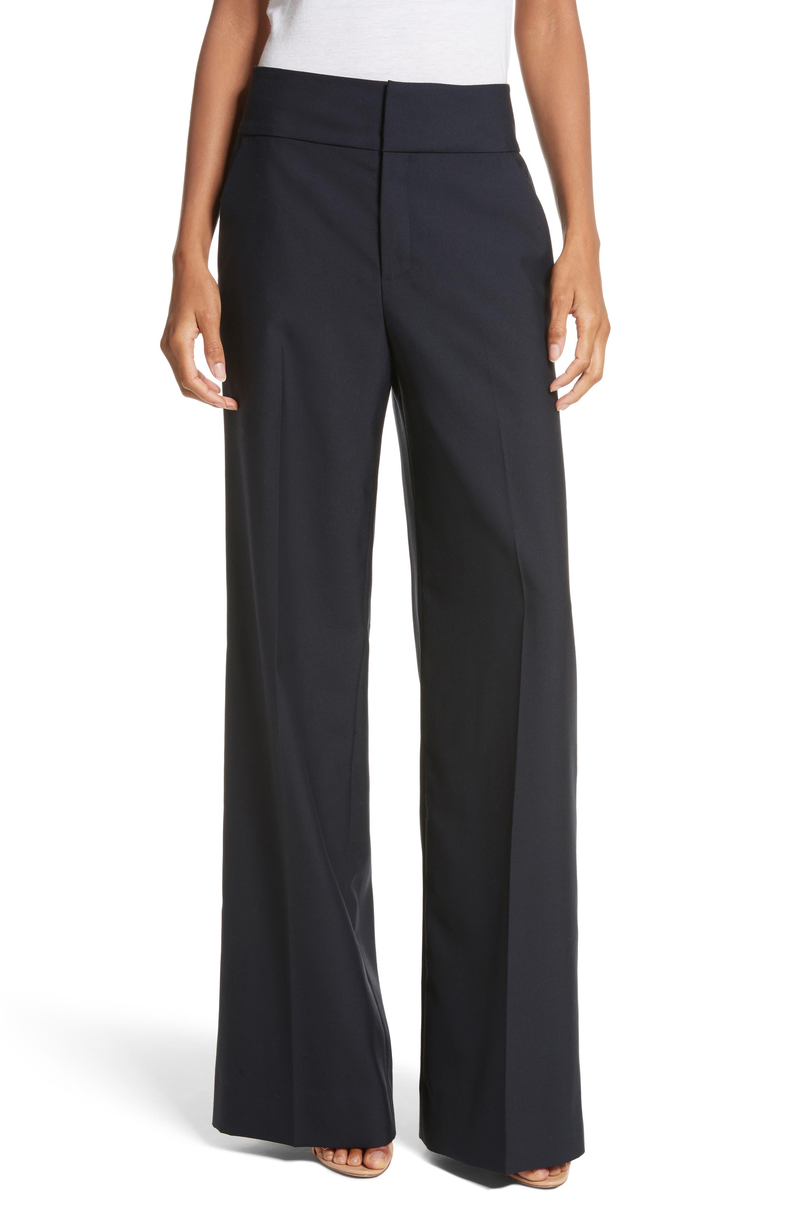 True Tux Wool Pants,                         Main,                         color, Navy