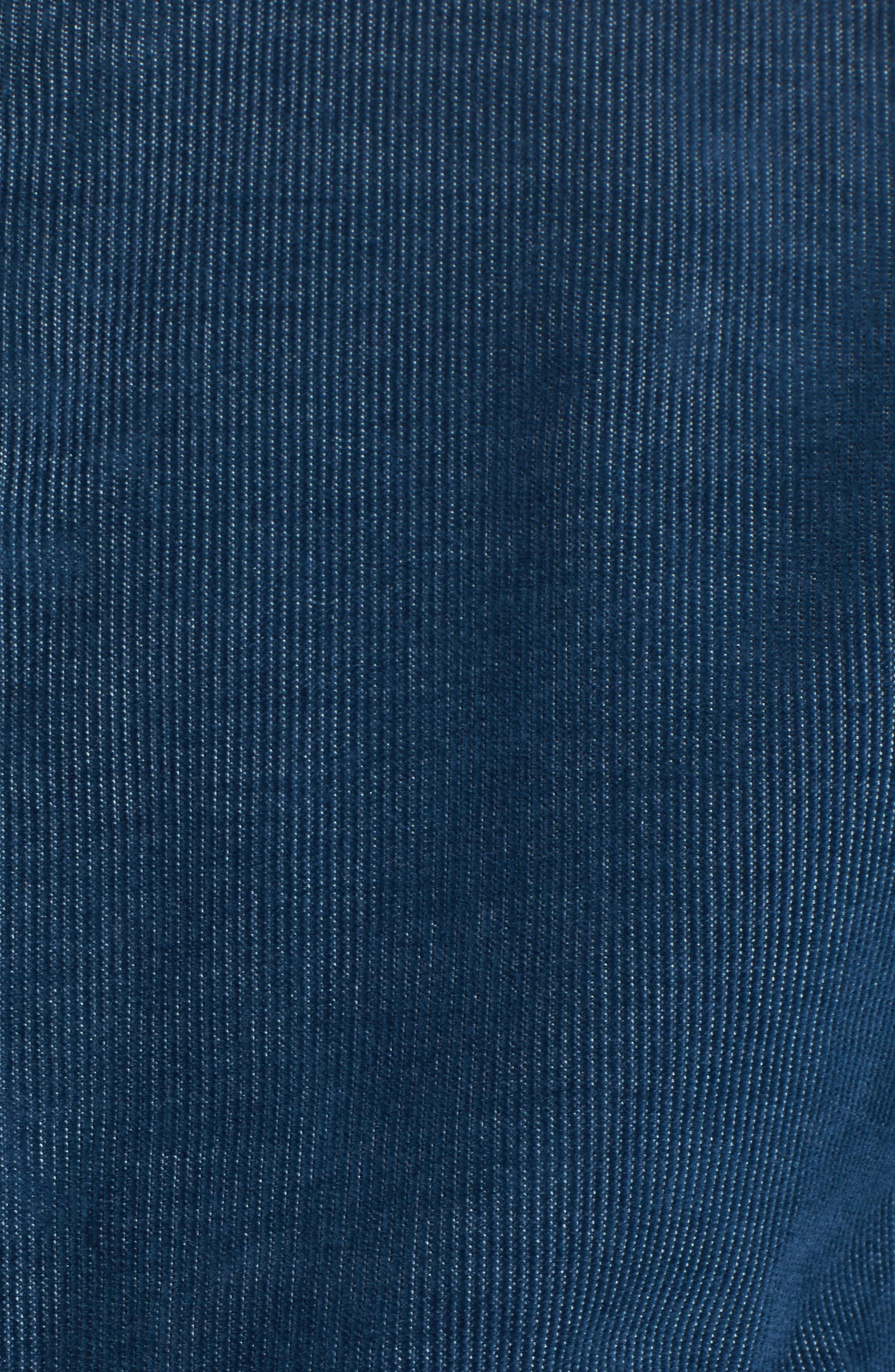 Cheriton Corduroy Shirt,                             Alternate thumbnail 5, color,                             Blue