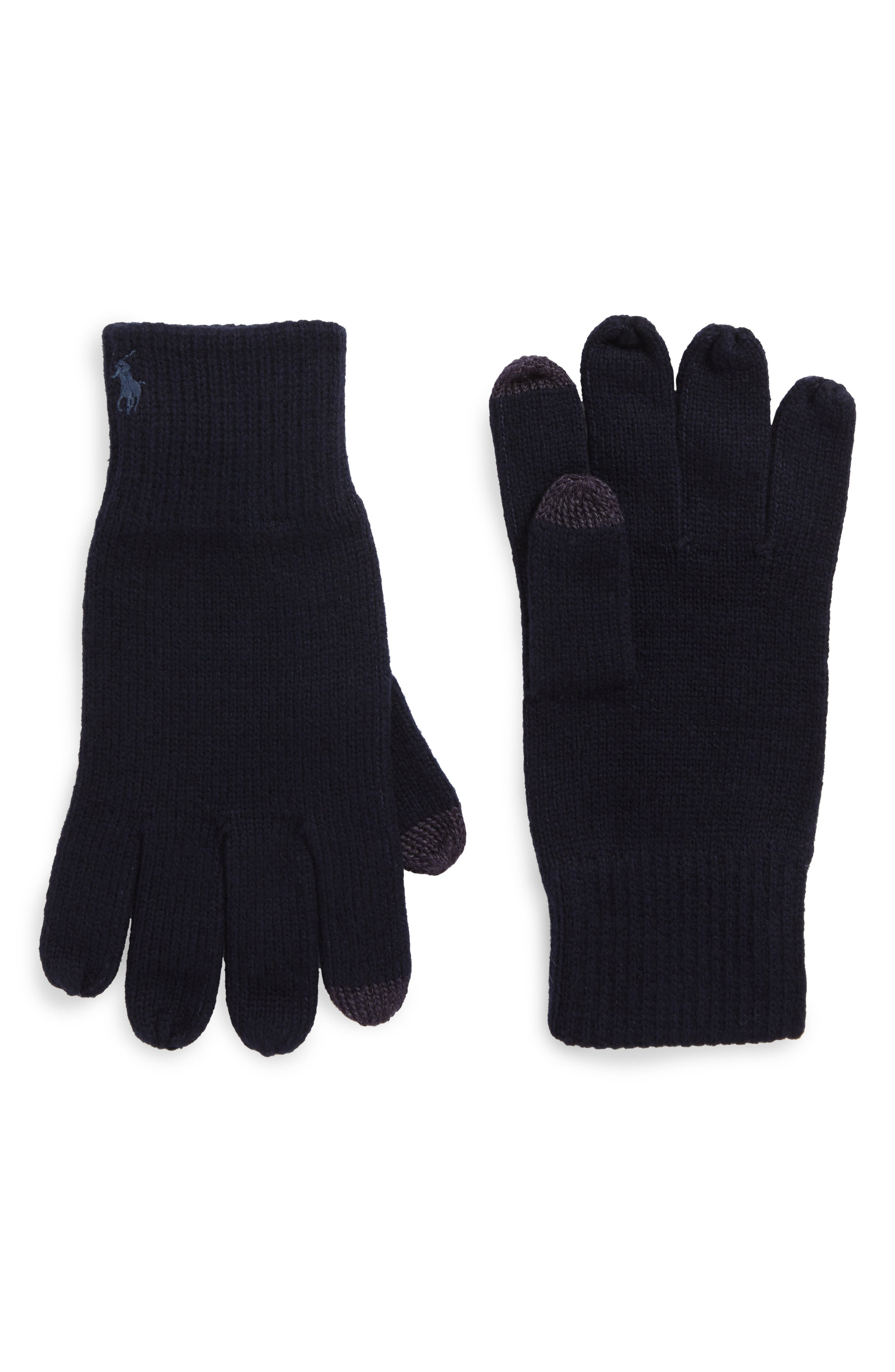 Polo Ralph Lauren Knit Tech Gloves