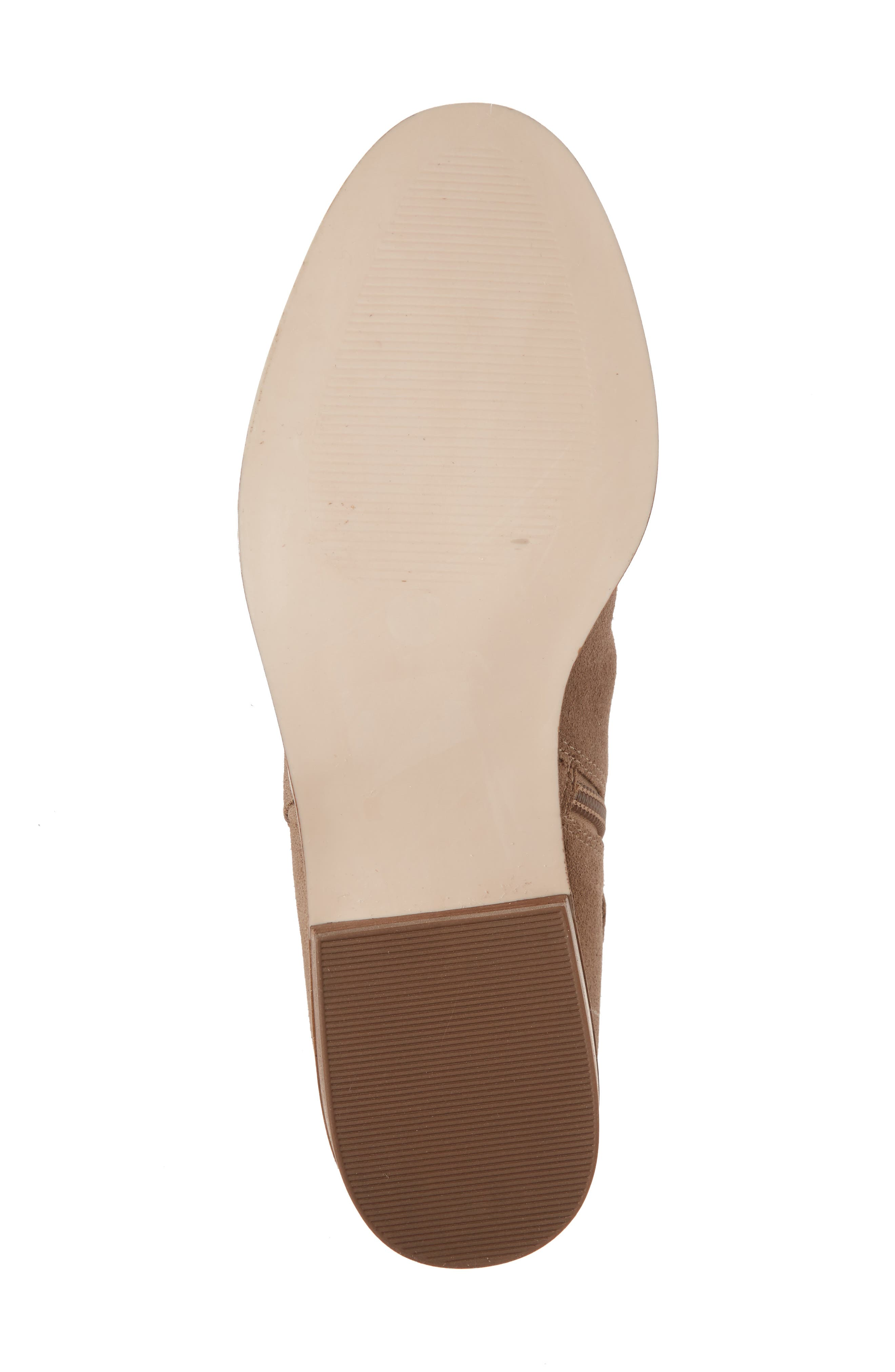 Lachlan Tie Back Bootie,                             Alternate thumbnail 6, color,                             Taupe