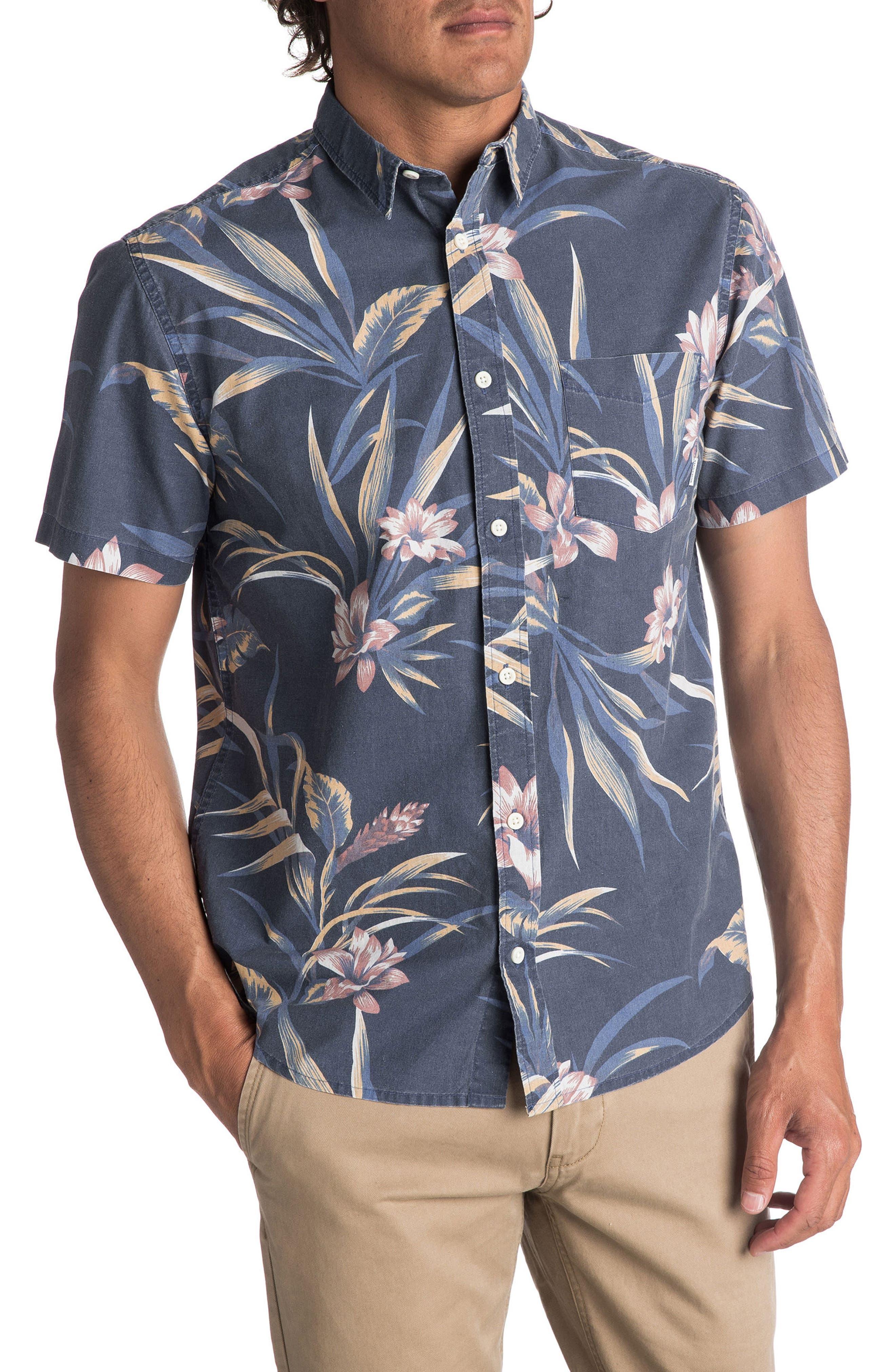 Quiksilver Longa Locka Print Woven Shirt