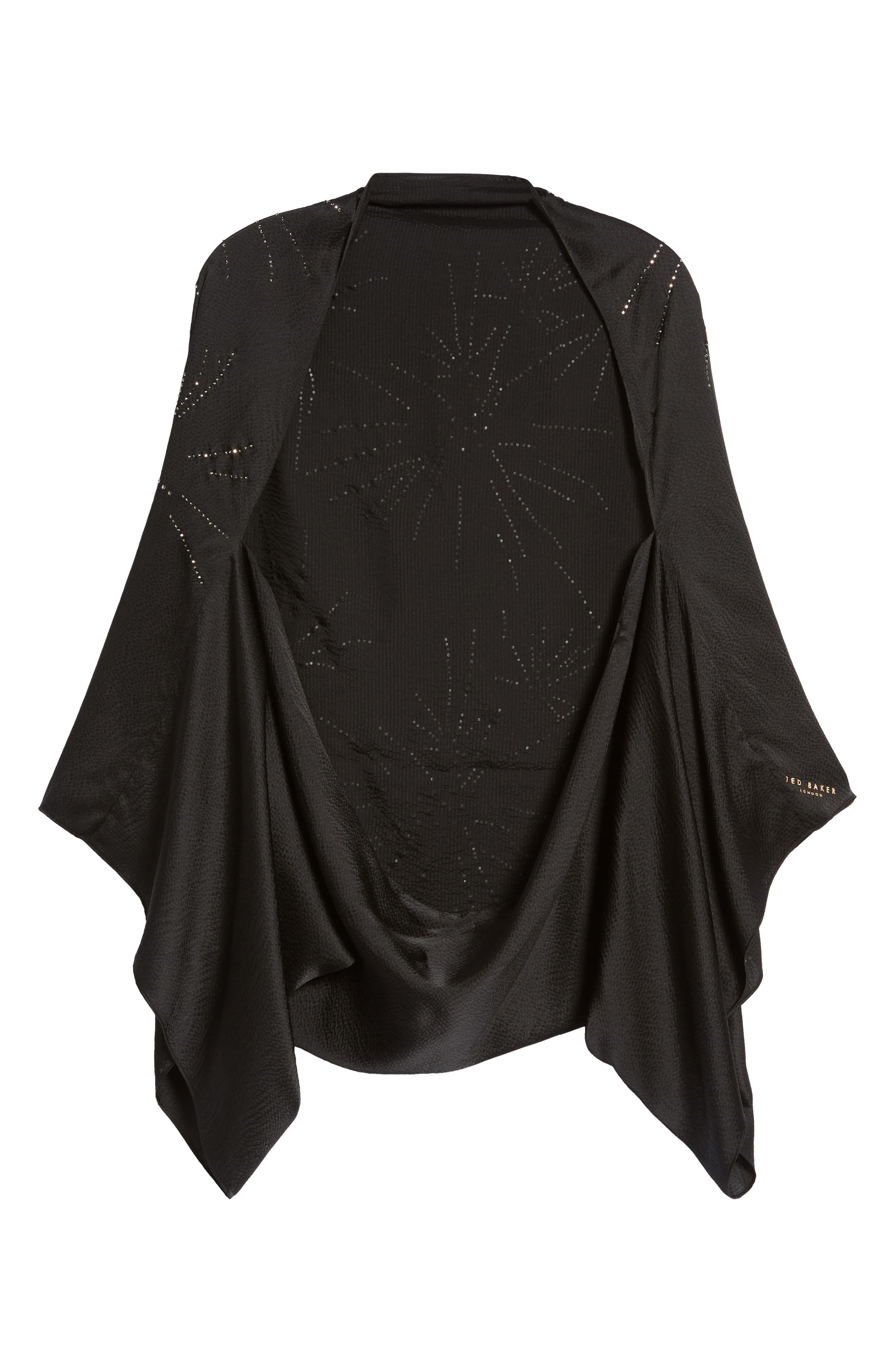 Alternate Image 6  - Ted Baker London Stardust Silk Cape Scarf