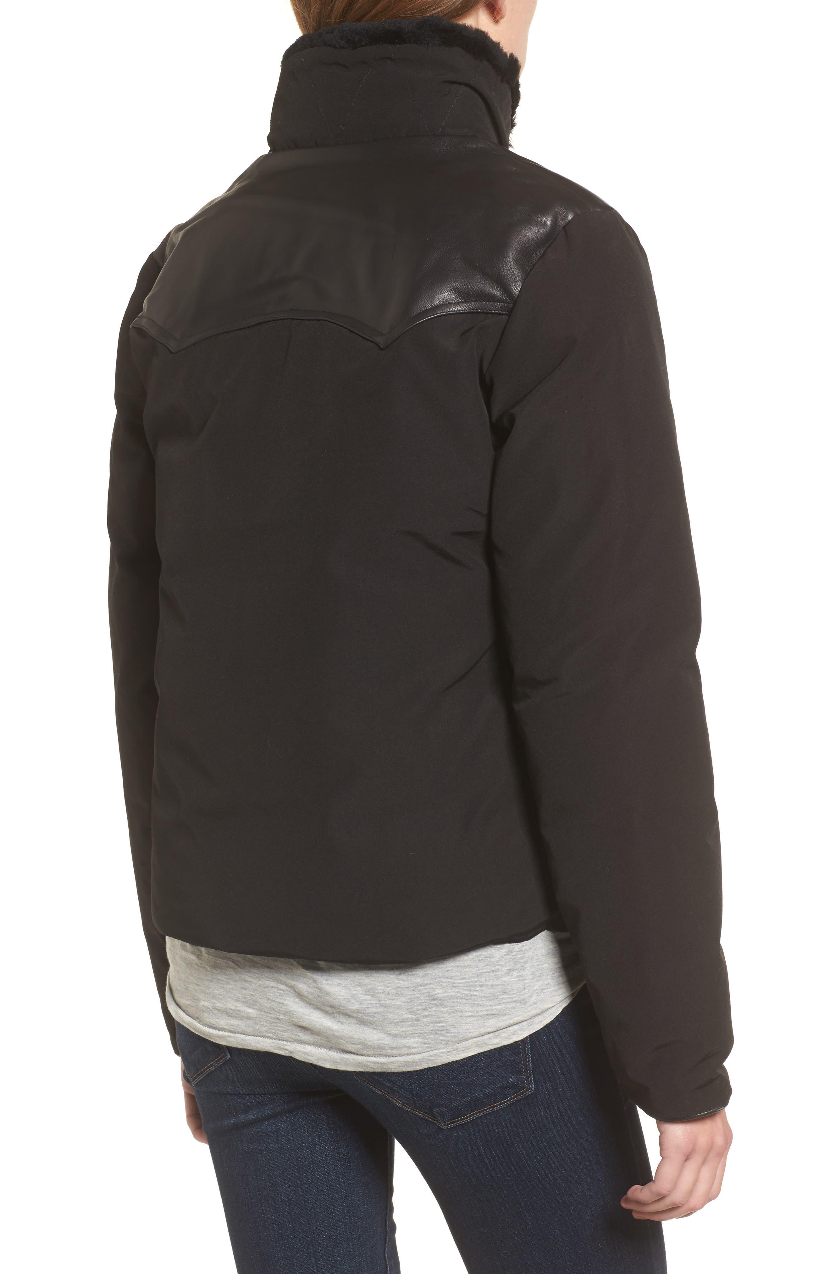 Alternate Image 2  - Penfield Rockwool Down Jacket with Genuine Coyote Fur Trim
