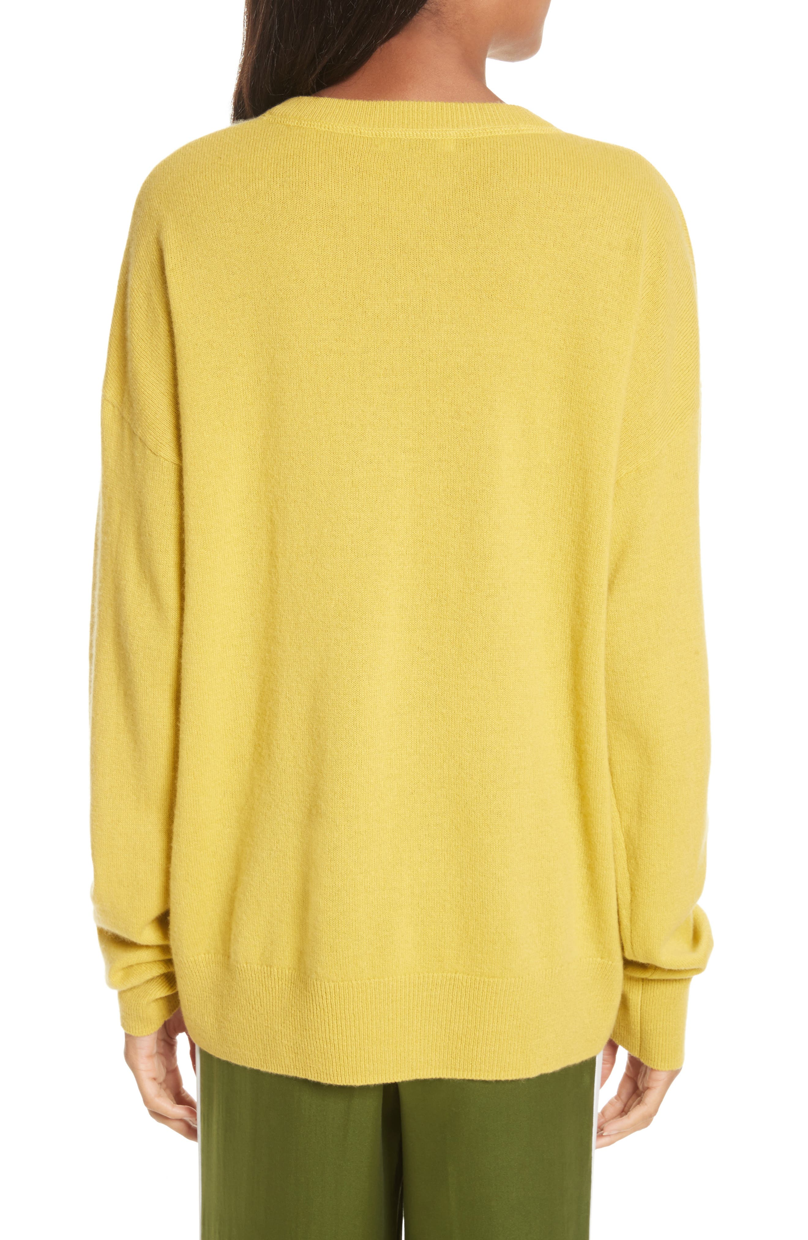 Renee Cashmere Sweatshirt,                             Alternate thumbnail 2, color,                             Bright Side