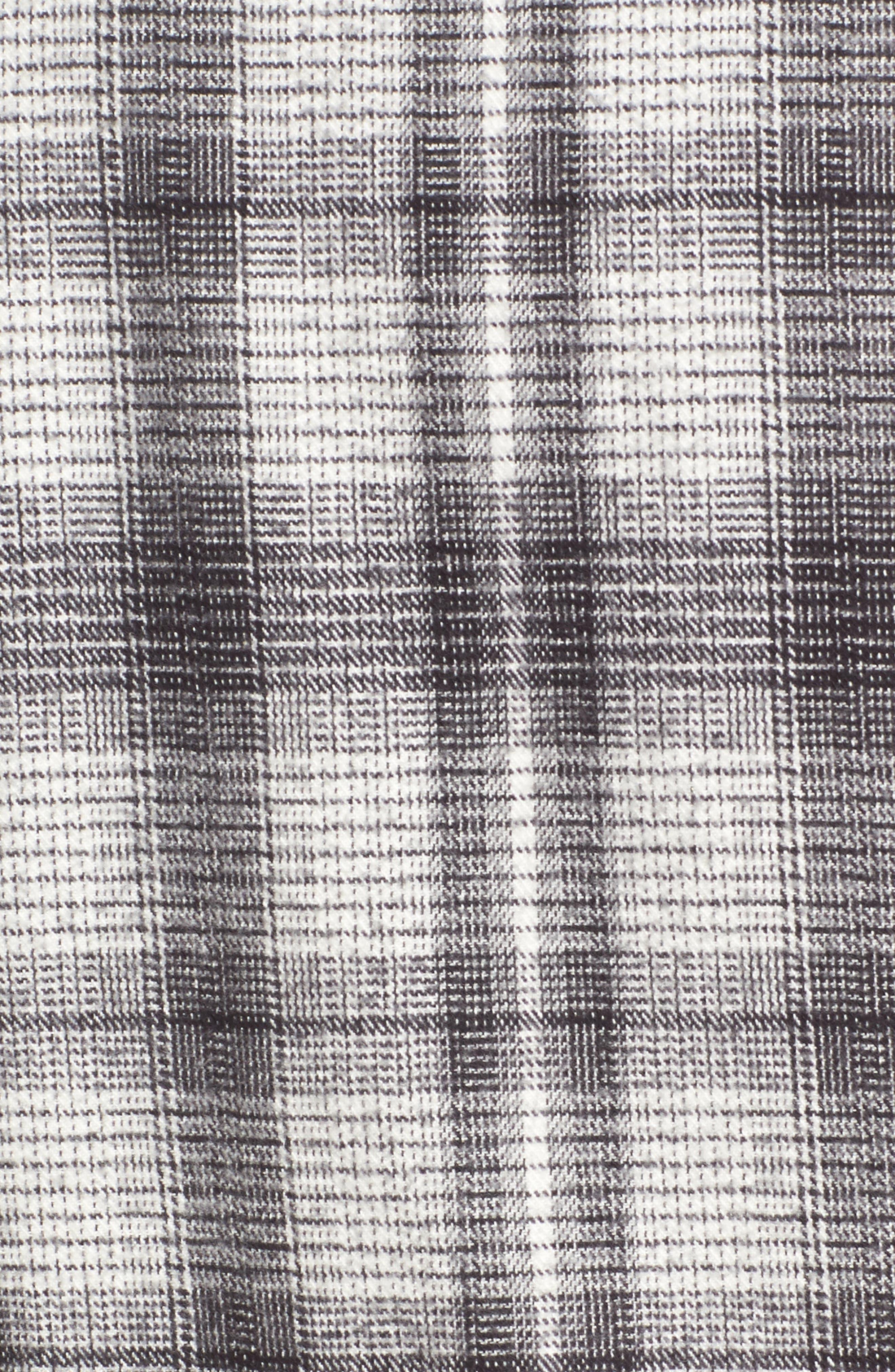 Whittier Plaid Flannel Shirt Jacket,                             Alternate thumbnail 5, color,                             Neutral Grey Multi