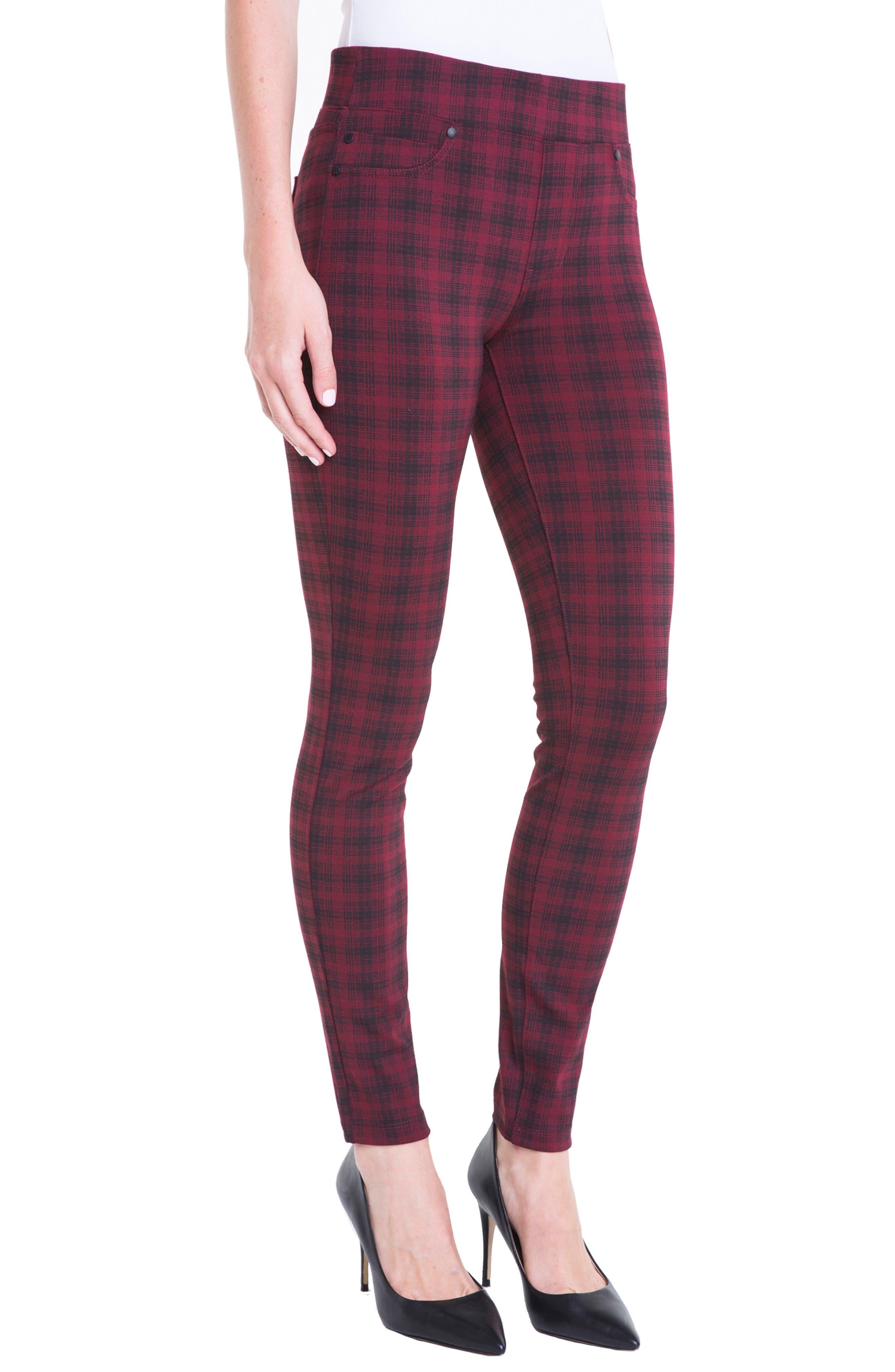 Alternate Image 4  - Liverpool Jeans Company Sienna Plaid Leggings