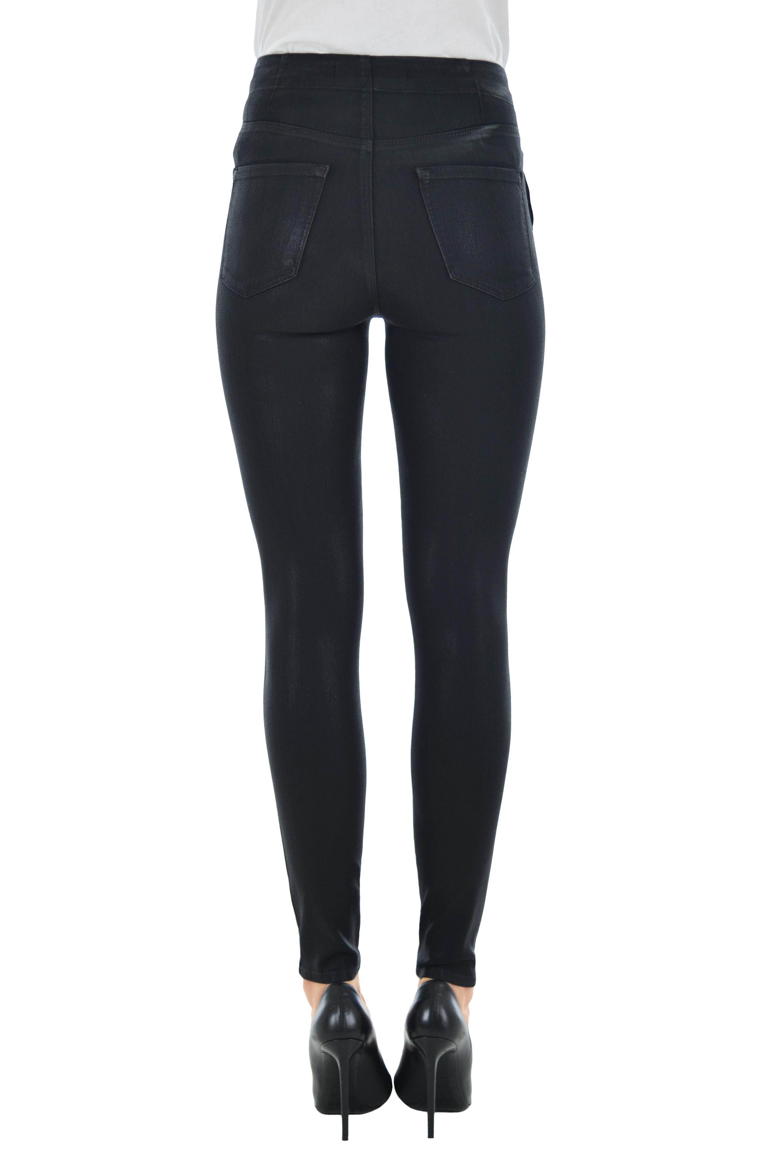 Alternate Image 2  - J Brand Natasha Sky High Skinny Jeans (Fearless)