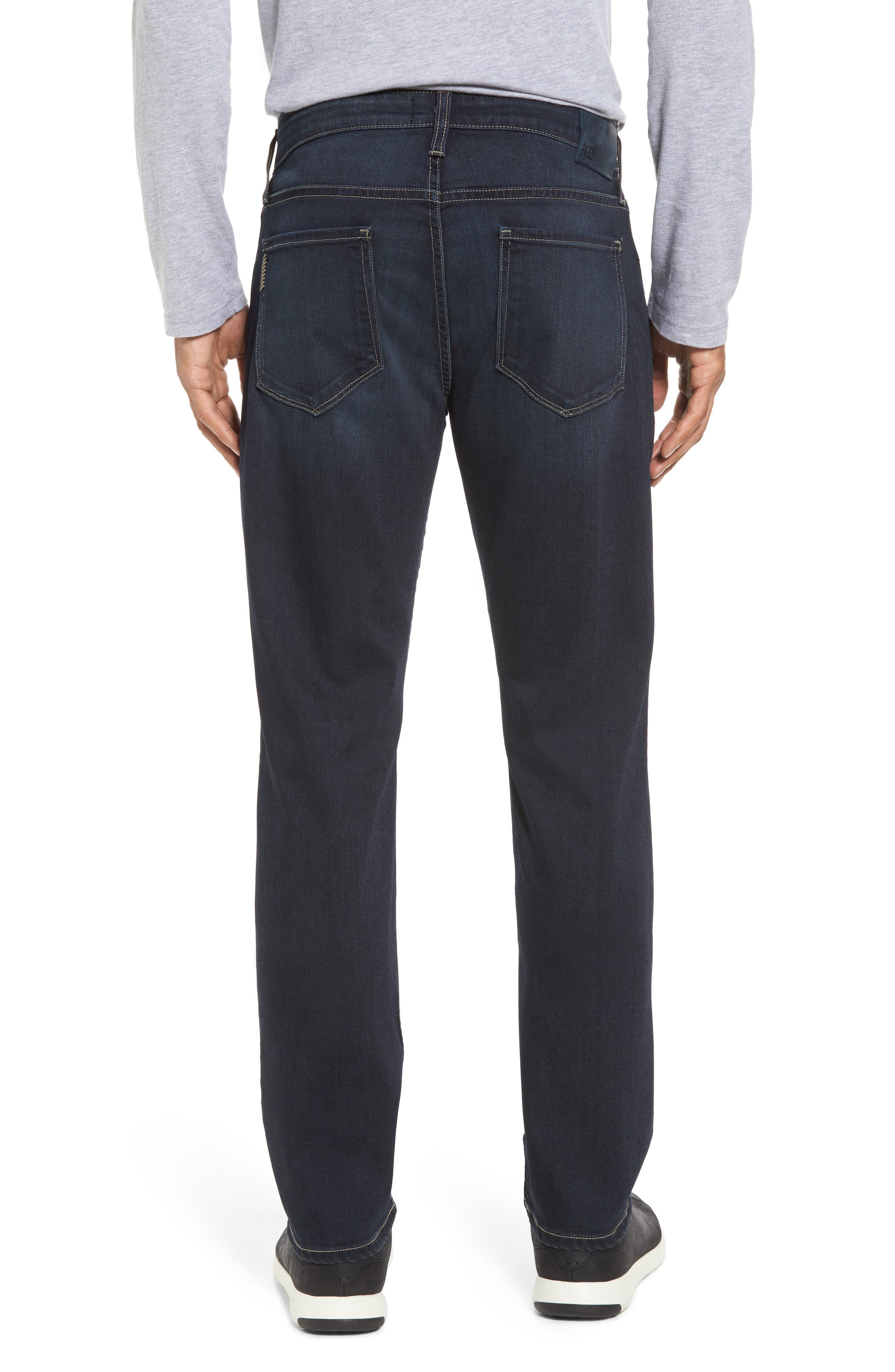 Alternate Image 2  - PAIGE Transcend - Federal Slim Straight Leg Jeans (Wilkins)