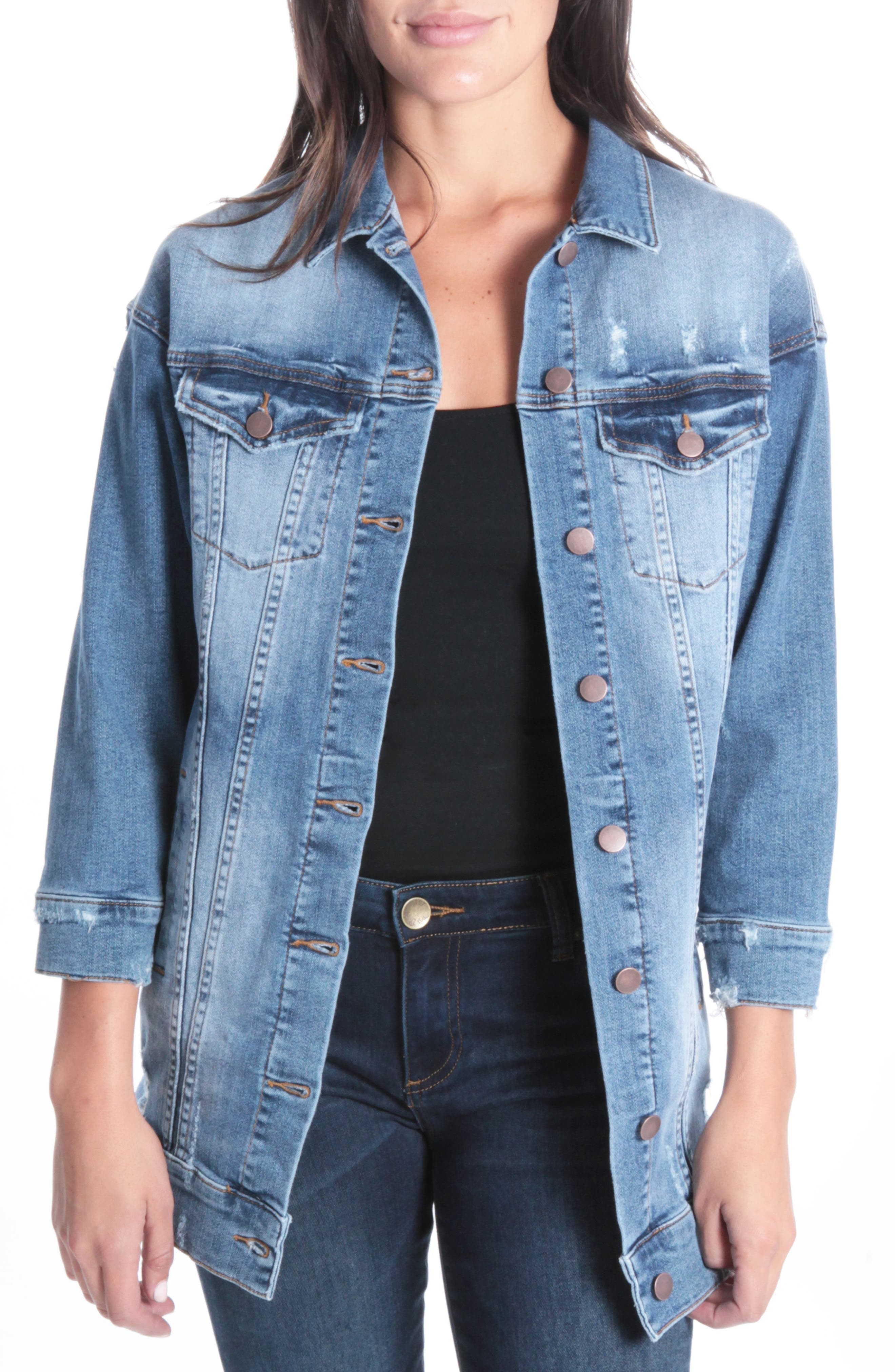 Kut from the Kloth Adriana Denim Jacket (Calculating)