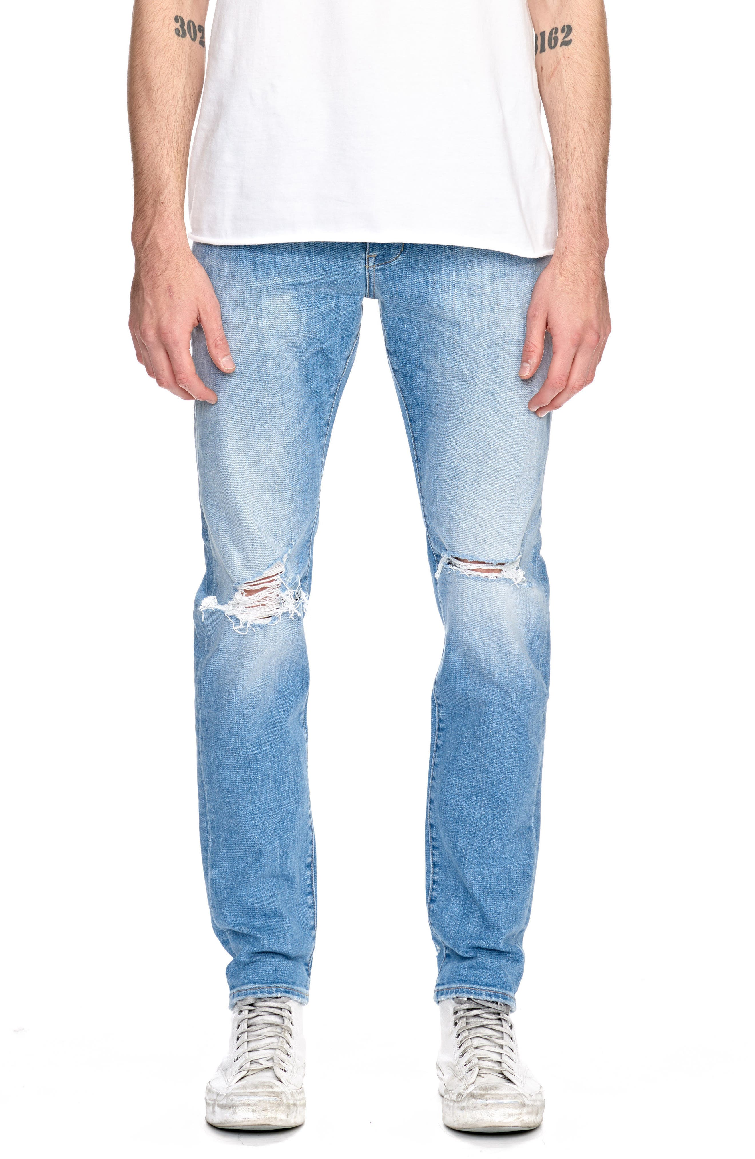 Alternate Image 1 Selected - NEUW Iggy Skinny Fit Jeans (Noam)